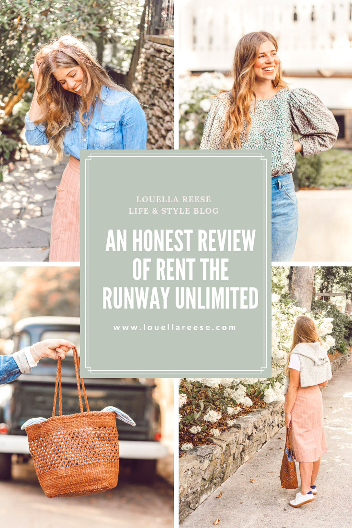 An Honest RTR Unlimited Review on popular Charlotte style blog Louella Reese | Style Bloggers thoughts on Rent the Runway Unlimited