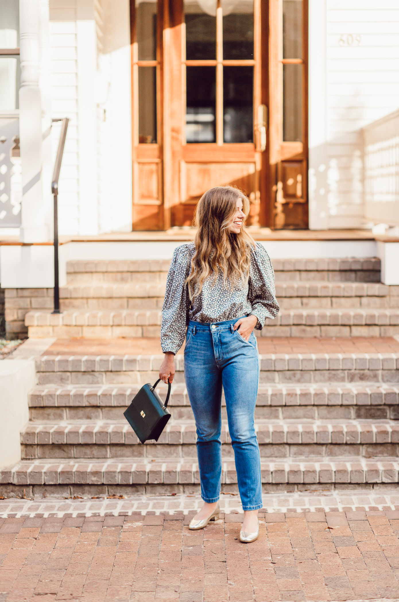 How to Style Statement Sleeves for Fall - Fall Statement Sleeve Tops featured by popular Charlotte style blogger Laura Leigh of Louella Reese