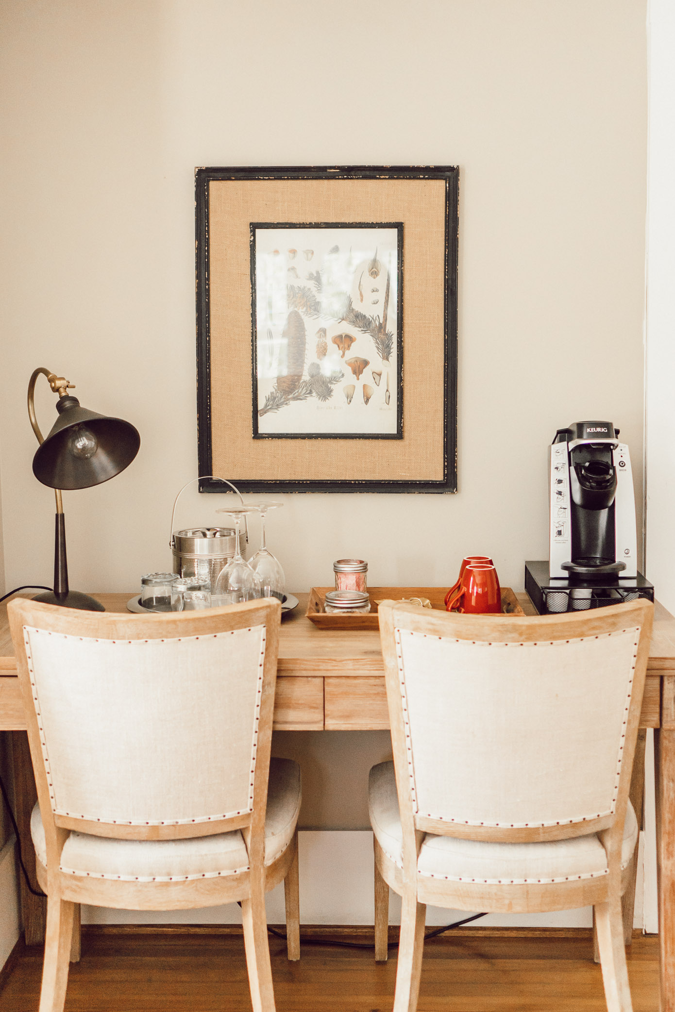 Coffee Nook | Blowing Rock Bed and Breakfast: The New Public House featured by popular North Carolina travel blogger Laura Leigh of Louella Reese