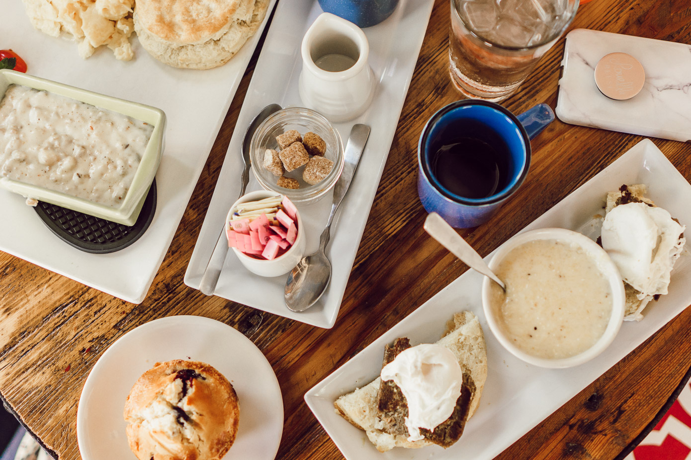 Breakfast at The New Public House | Where to Stay in Blowing Rock NC: The New Public House featured by popular North Carolina travel blogger Laura Leigh of Louella Reese