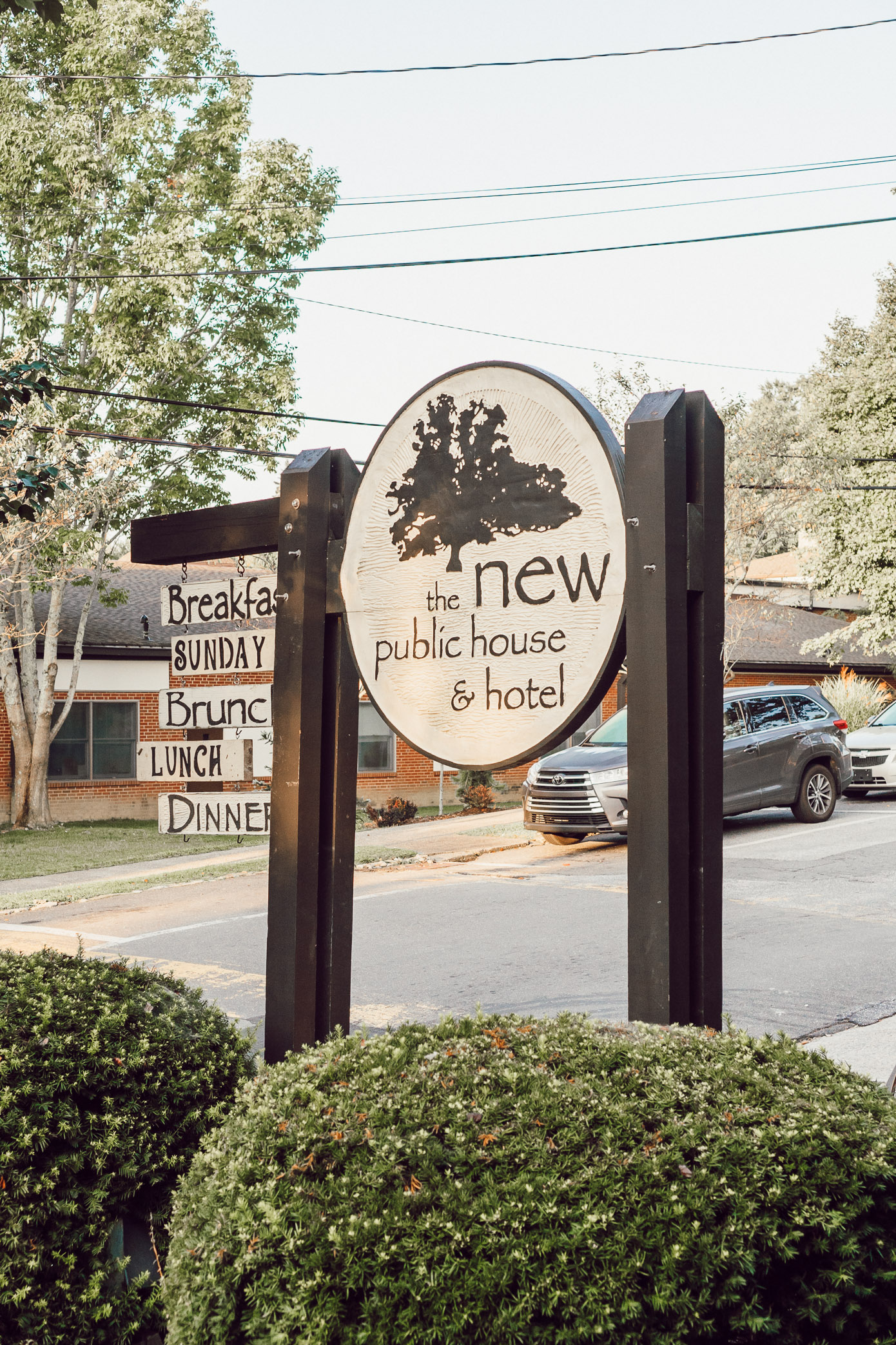 Where to Stay in Blowing Rock NC: The New Public House featured by popular North Carolina travel blogger Laura Leigh of Louella Reese