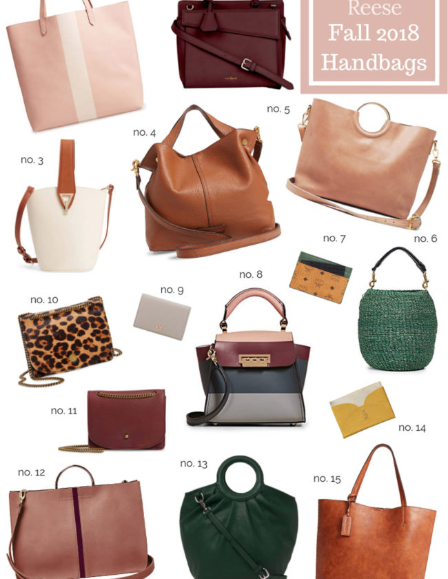 The BEST Fall 2018 Handbags featured on Louella Reese