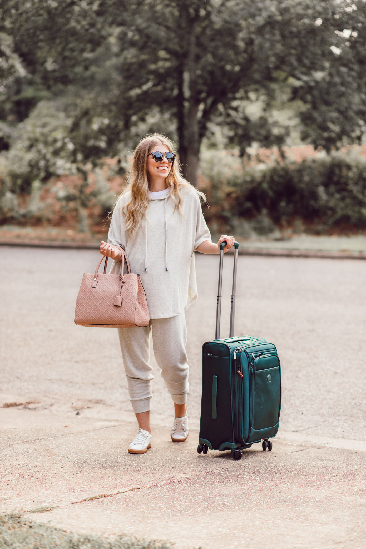 Loungewear for Fall | What to Wear for Fall Travels on Louella Reese