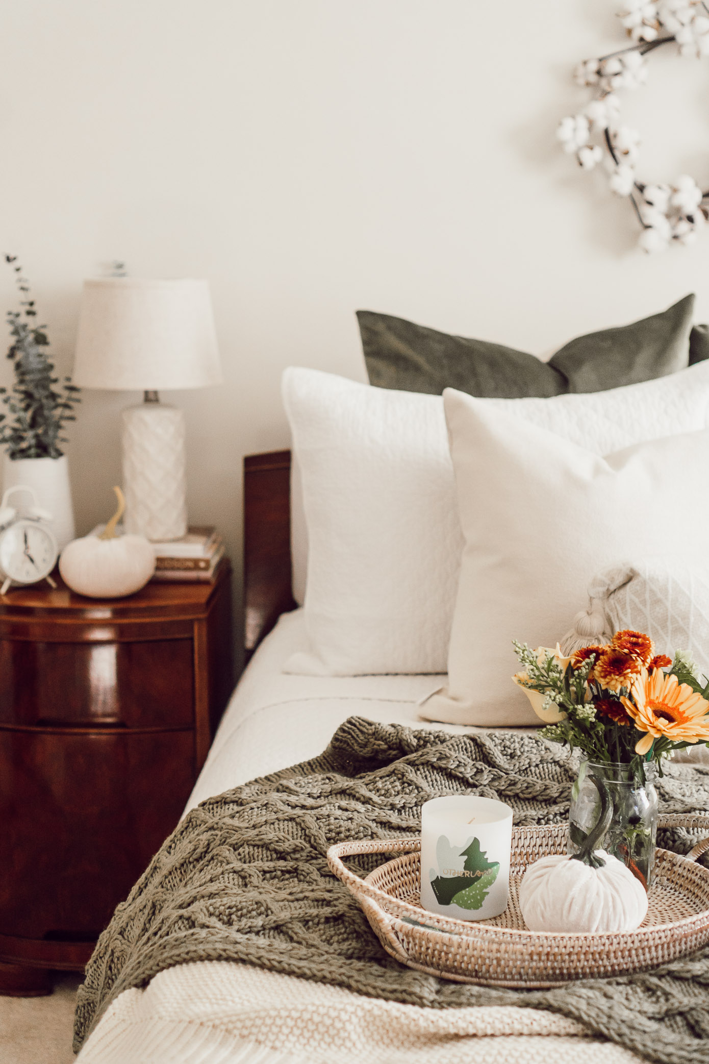 Fall Bedroom Decor | 4 Essentials For Making Your Bedroom Fall Ready - Louella Reese