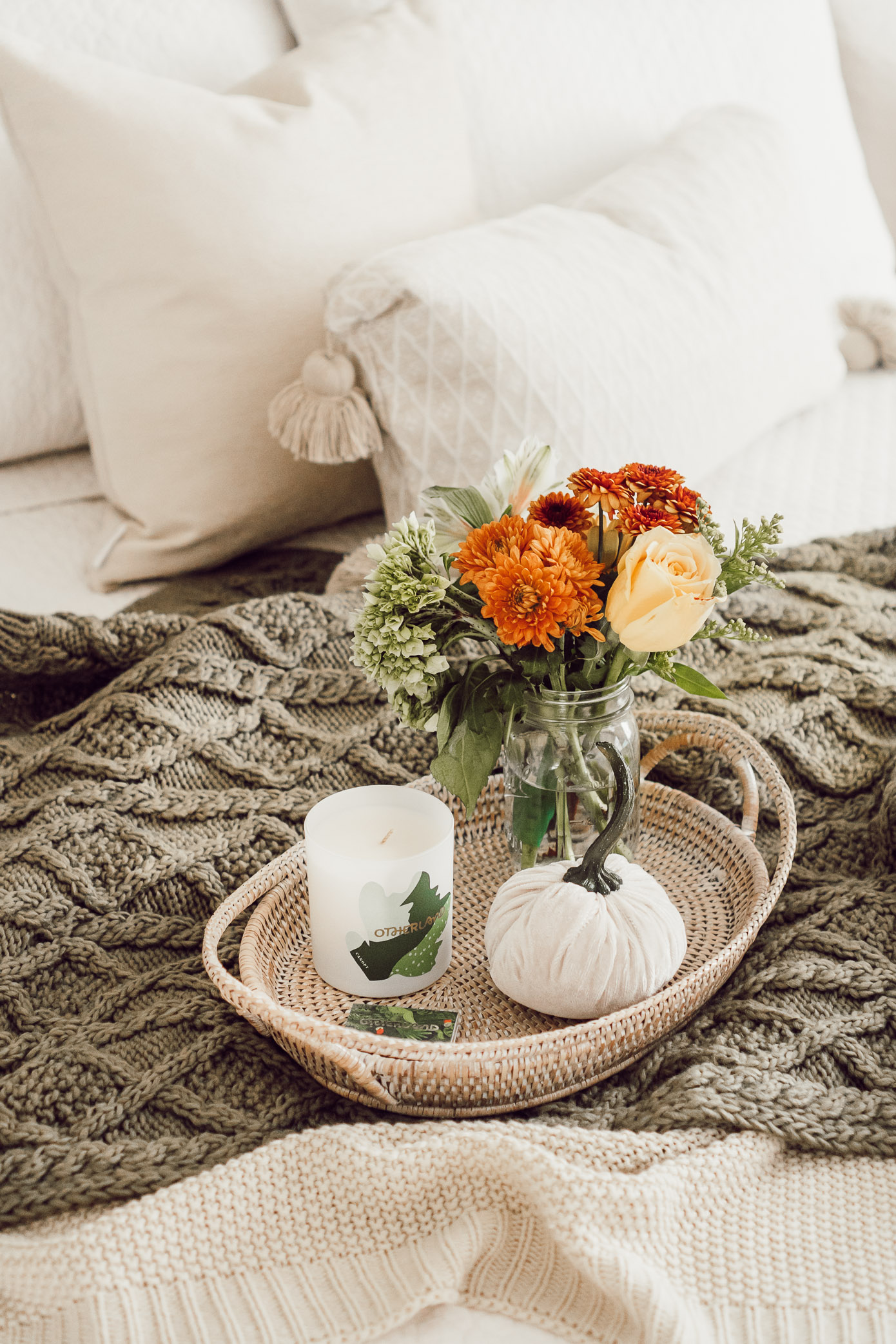 Fall Bedroom Decor | 4 Essentials For Making Your Bedroom Fall Ready - Louella Reese Blog