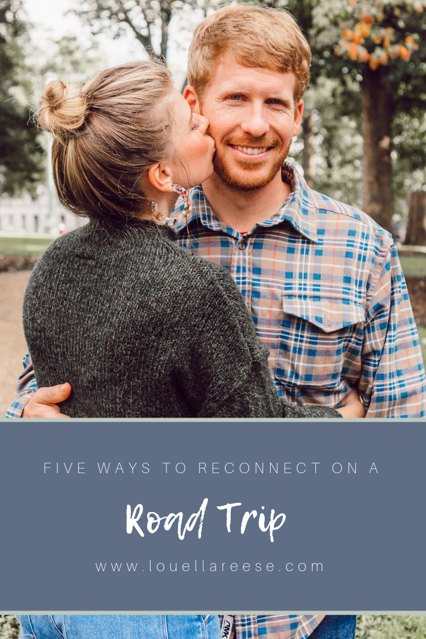 Five Ways to Reconnect on a Road Trip featured on Louella Reese