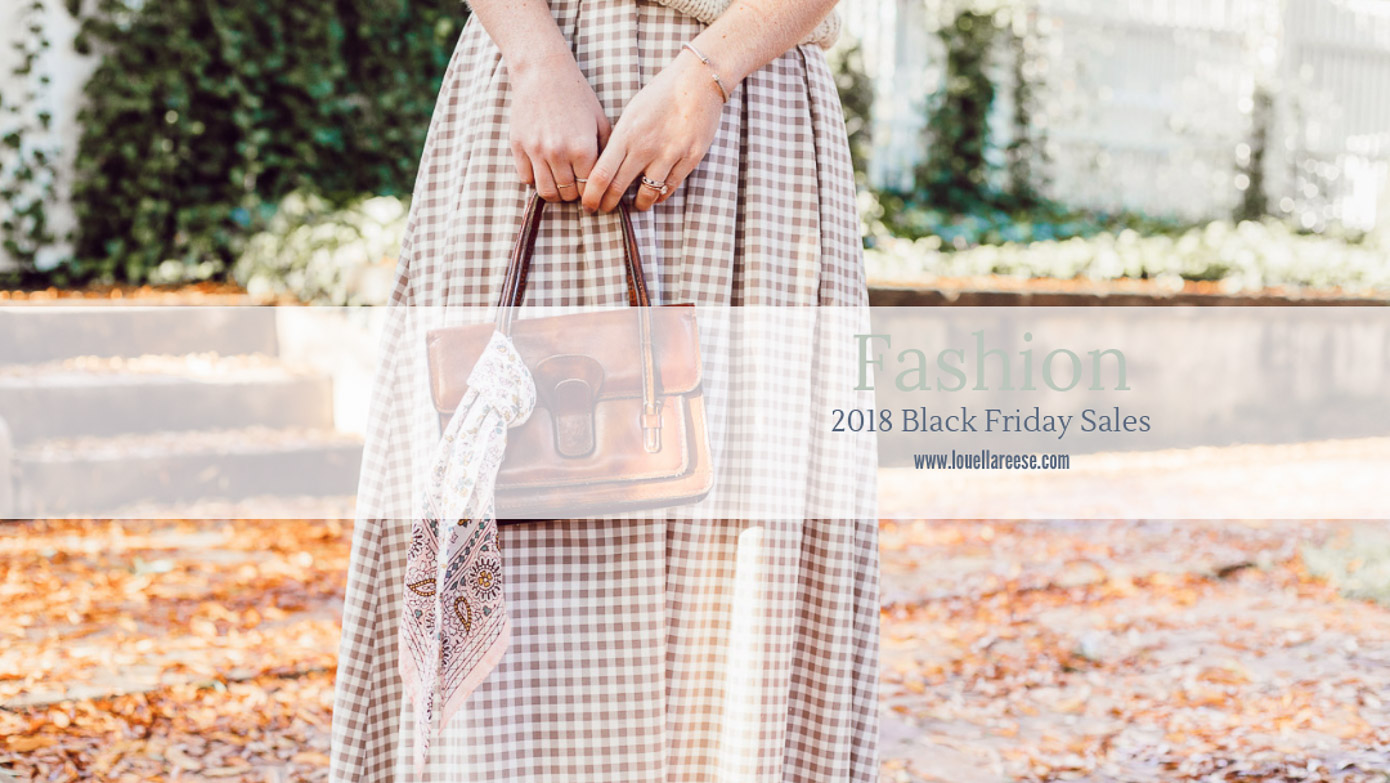 BEST 2018 Black Friday Sales featured on Louella Reese | Black Friday Sales to Shop NOW