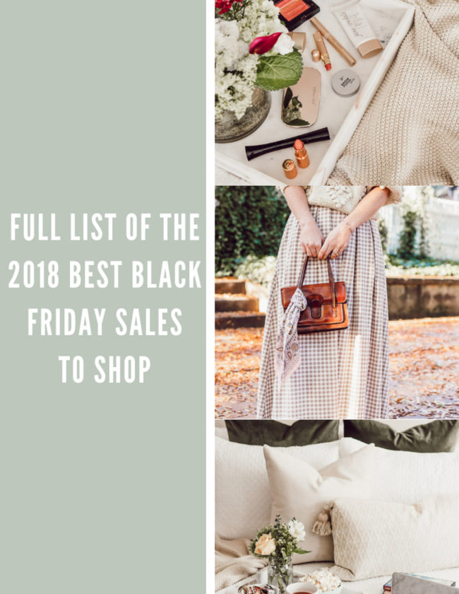 BEST 2018 Black Friday Sales featured on Louella Reese Life & Style Blog | Black Friday Sales to Shop NOW