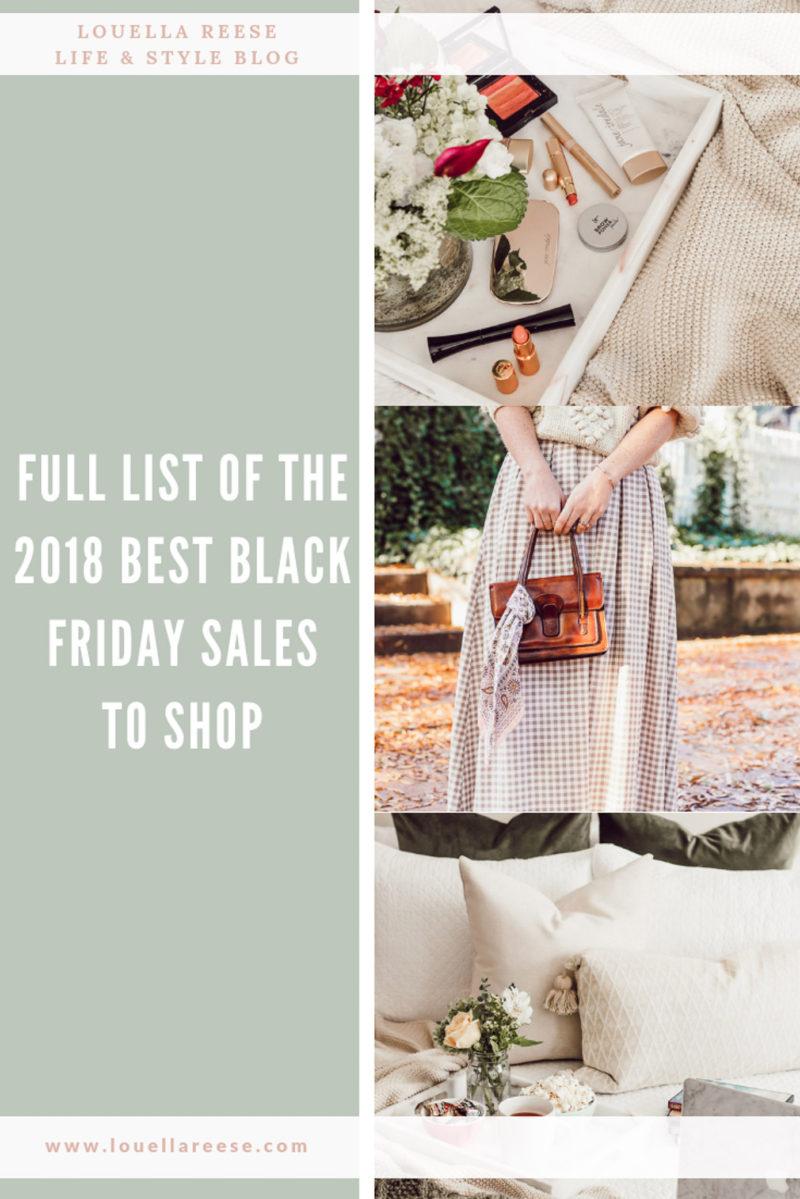 Best 2018 Black Friday Sales