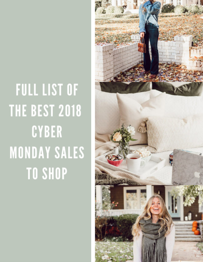 BEST 2018 Cyber Monday Sales featured on Louella Reese Life & Style Blog | Cyber Monday Sales to Shop NOW