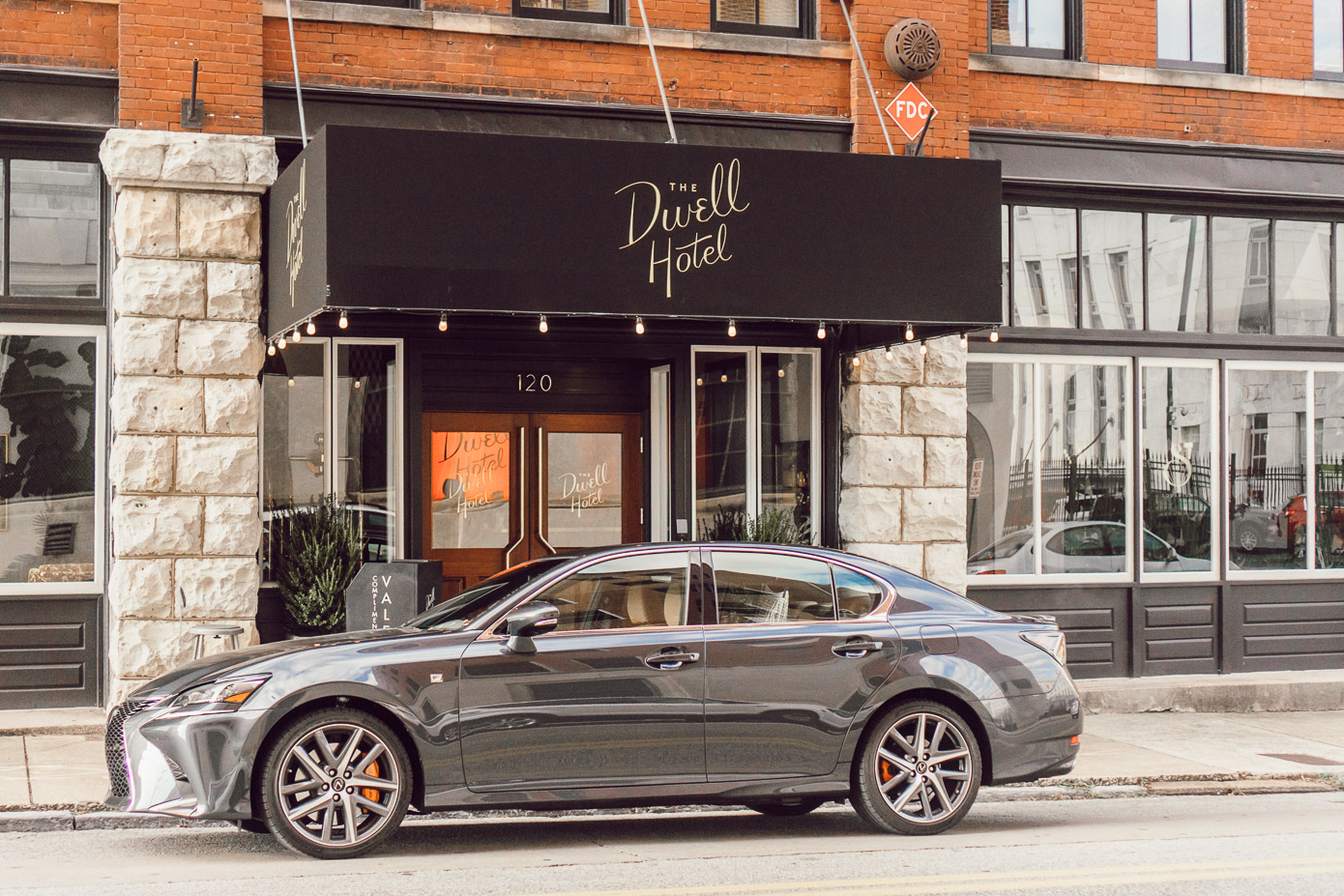 The Dwell Hotel Chattanooga Tennessee, Lexus GS350 | Chattanooga Travel Guide Featured on Louella Reese Life & Style Blog