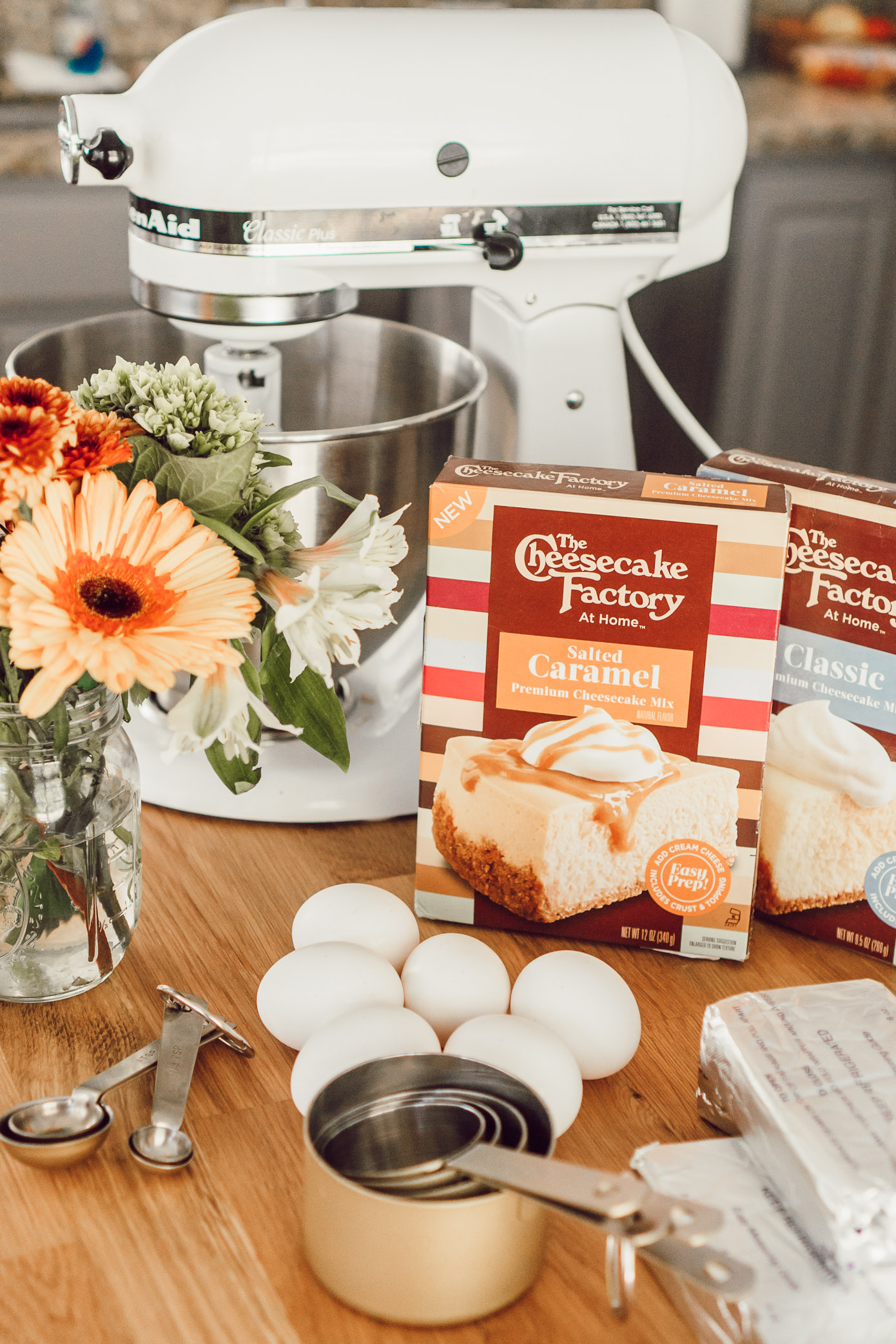 Fall Cheesecake | Three Times to Celebrate Fall with Cheesecake Factory at Home featured on Louella Reese Blog