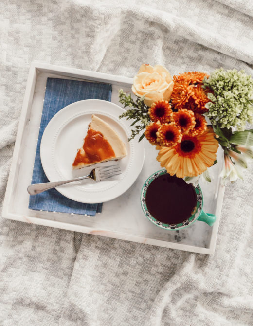 Fall Cheesecake | Three Times to Celebrate Fall with Cheesecake Factory at Home featured on Louella Reese