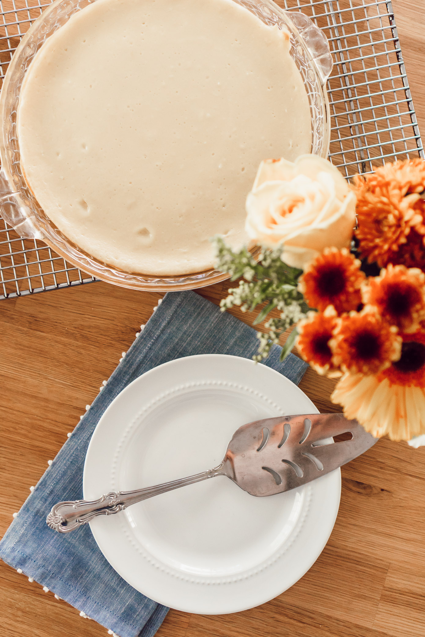 Fall Cheesecake | Three Times to Celebrate Fall with Cheesecake Factory at Home featured on Louella Reese Life & Style Blog