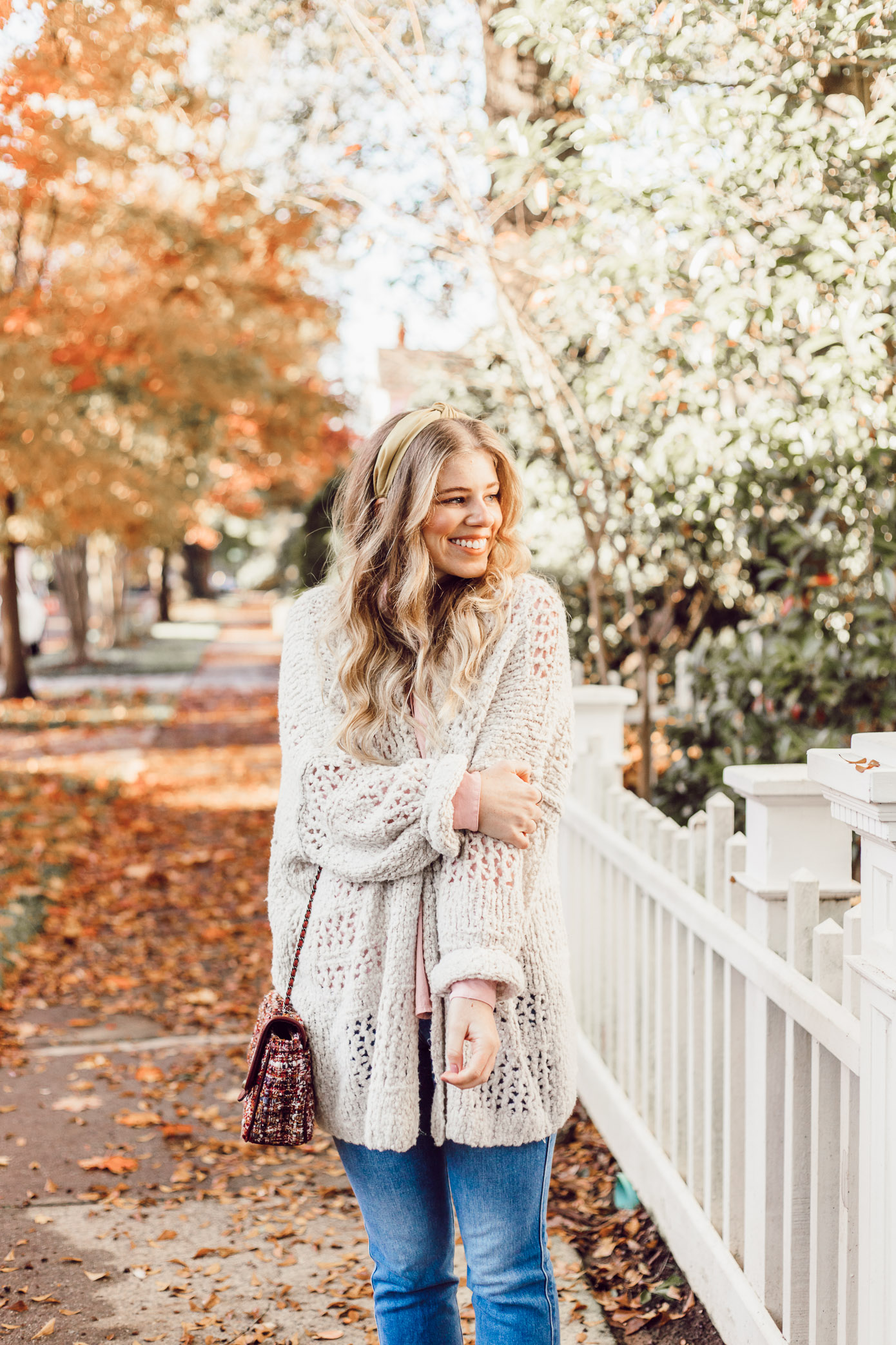 No Fail Thanksgiving Outfit, Casual Fall Outfit | Free People Saturday Morning Cardigan featured on Louella Reese