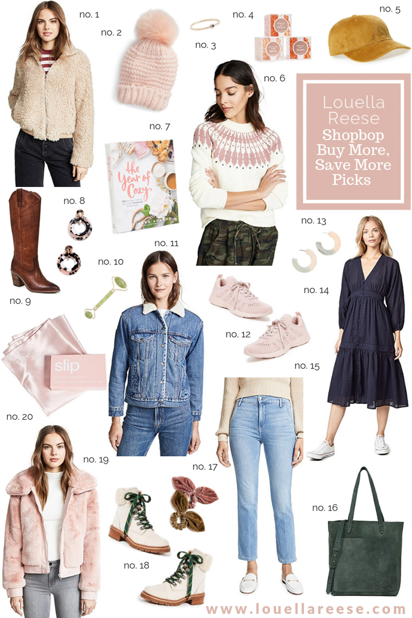 Shopbop Buy More Save More Winter 2018 Sale Top Picks featured on Louella Reese