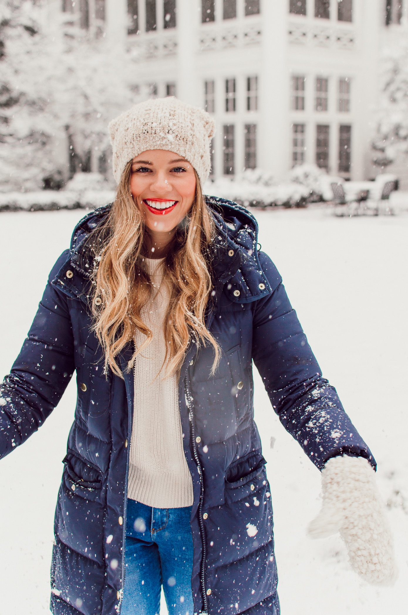 Louella Reese 2018 Year Review Top IG Photos | Snow Day Outfit Idea