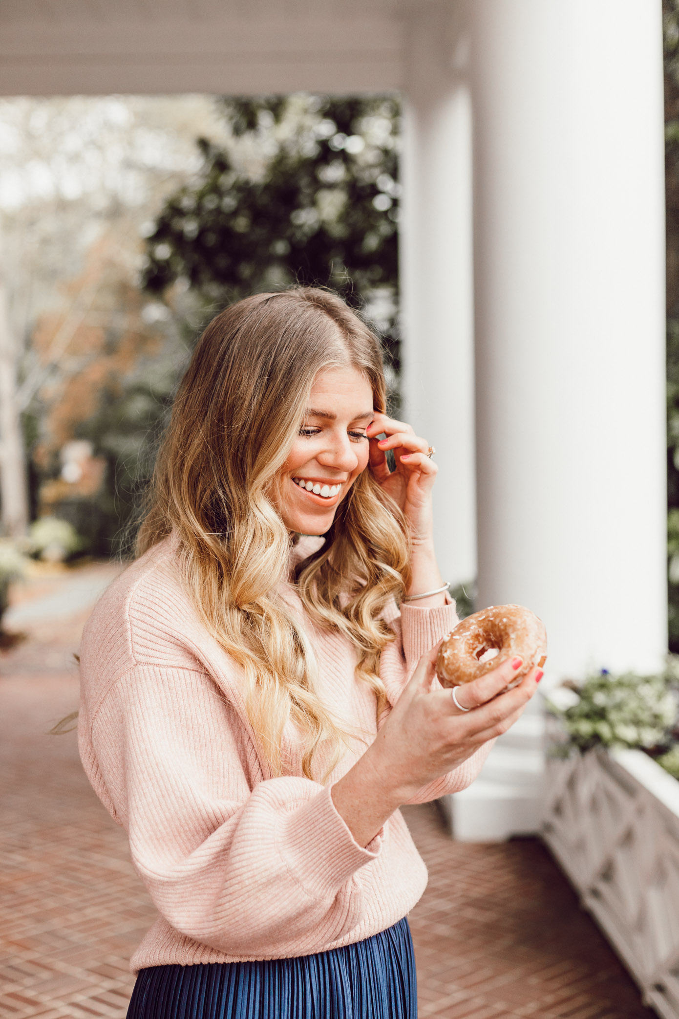 29 Life Lessons Learned featured on Louella Reese for her 29th Birthday | Old-Fashioned Cake Doughnut