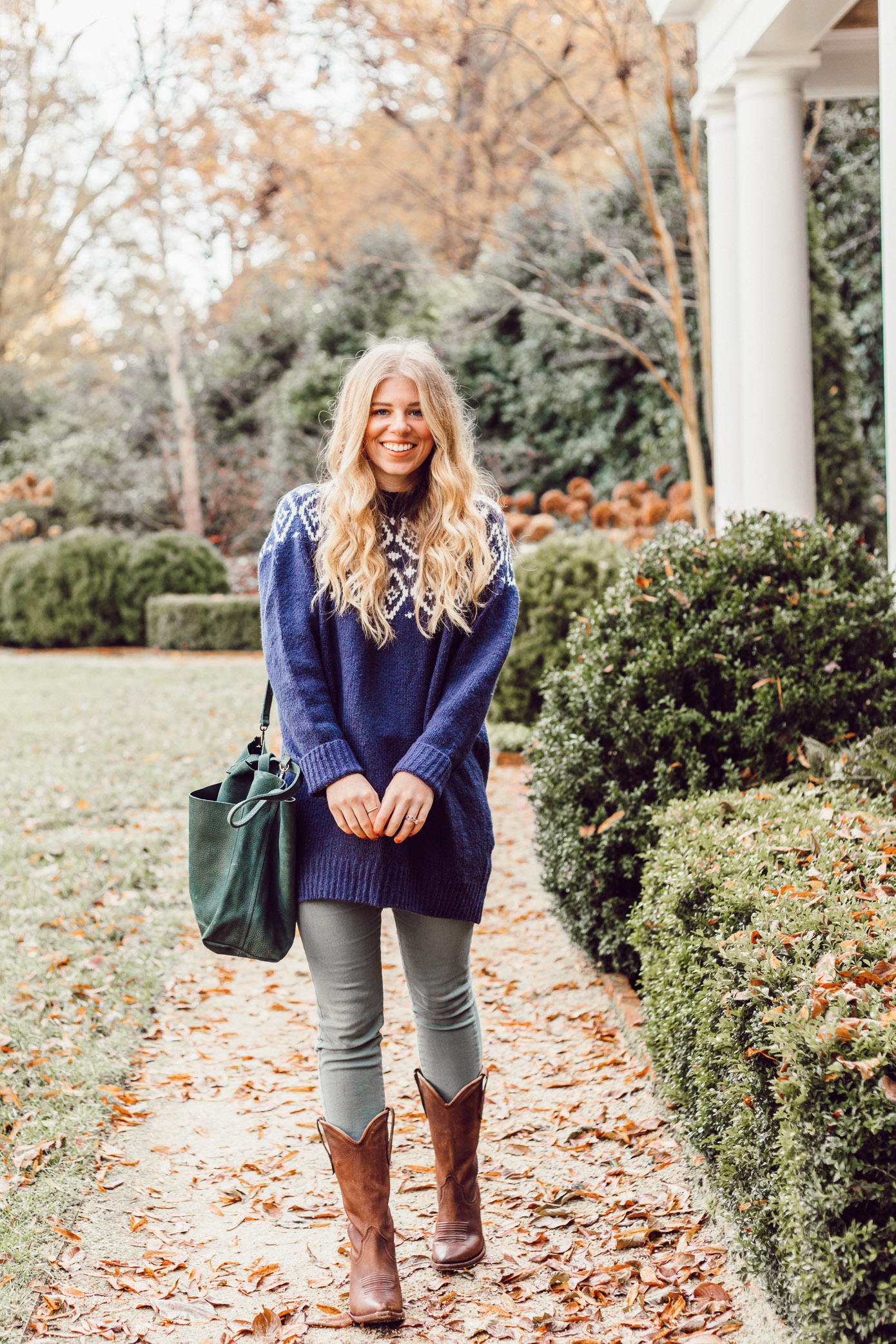 The Brand I Can Always Count On For Great Boots featured on Louella Reese Life & Style Blog | Great Boots for Winter, Western Boots