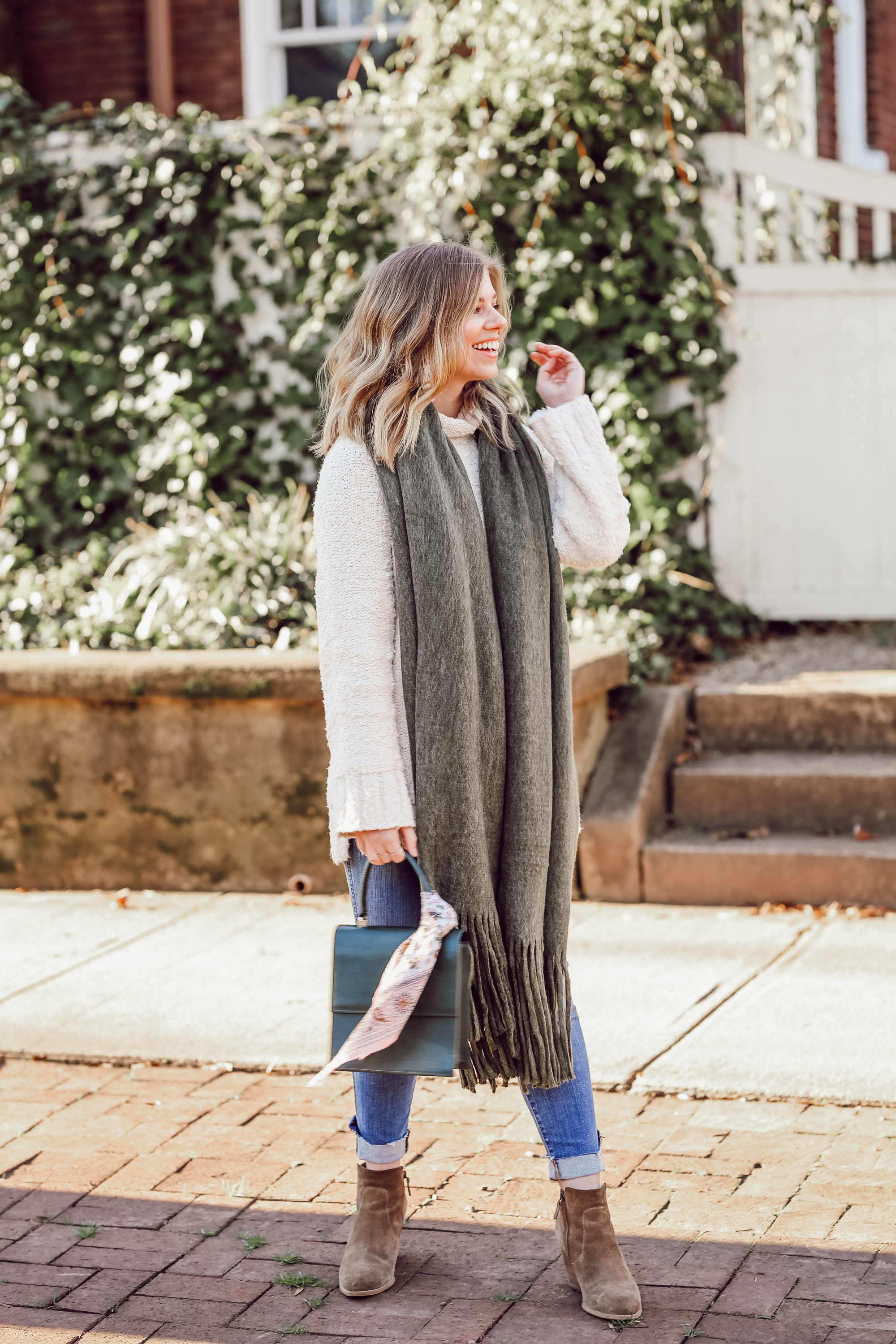 Winter Brewery Hopping Outfit Idea | Casual Everyday Style | Louella Reese