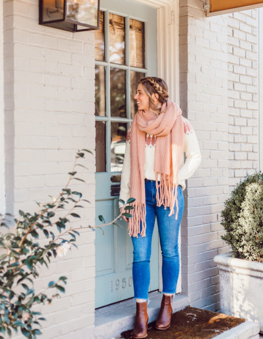 Madewell Keaton Fair Isle Sweater | 10 Things I Want to Make Happen In 2019, 2019 Goals | Louella Reese