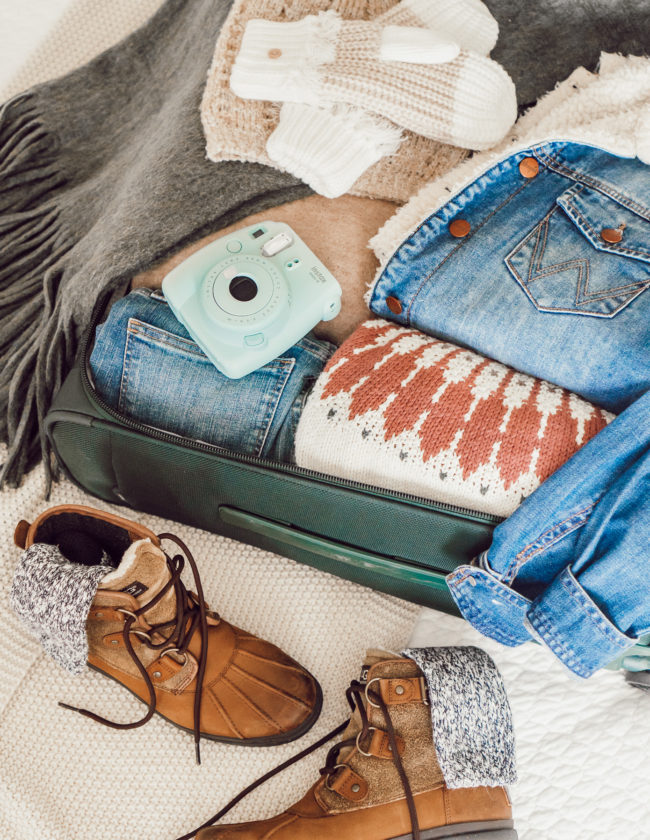 What I'm Packing for a Ski Weekend | Louella Reese Life & Style Blog