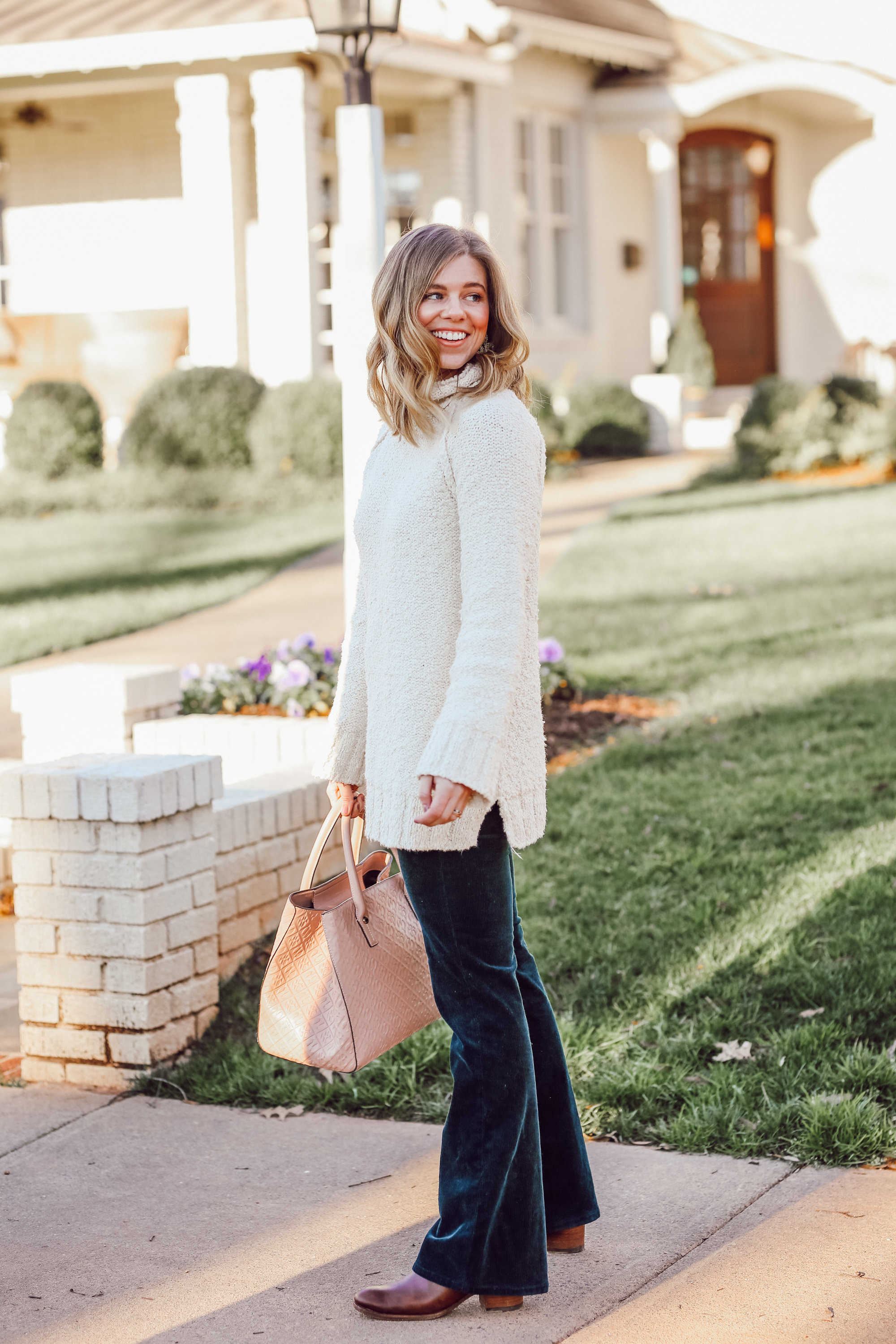 The Perfect Everyday Neutral Sweater   Louella Reese
