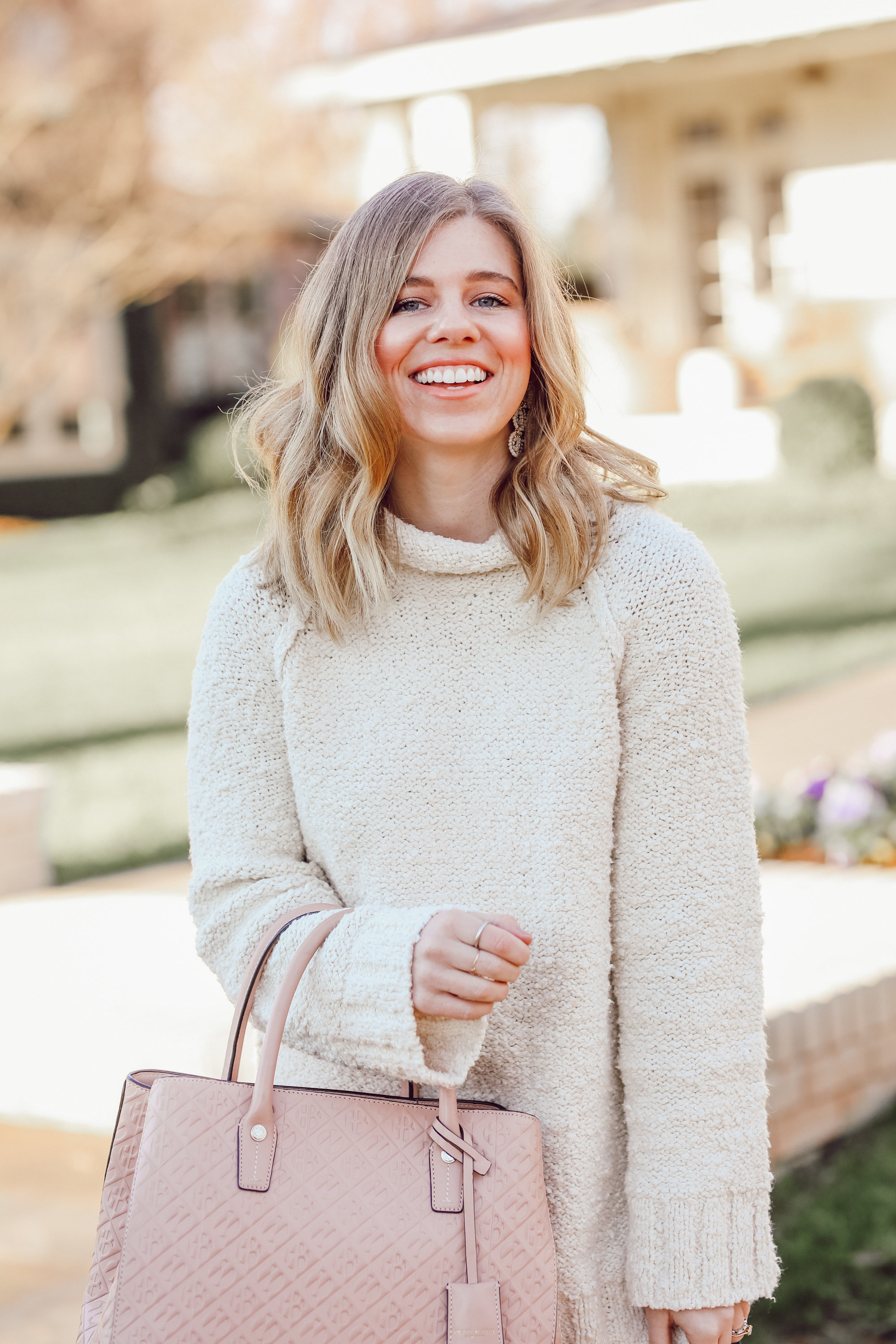 The Perfect Everyday Neutral Sweater for Winter   Louella Reese