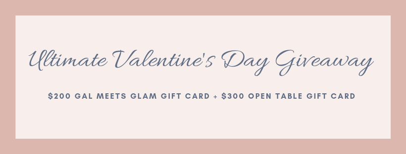 Gal Meets Glam & Open Table Giveaway