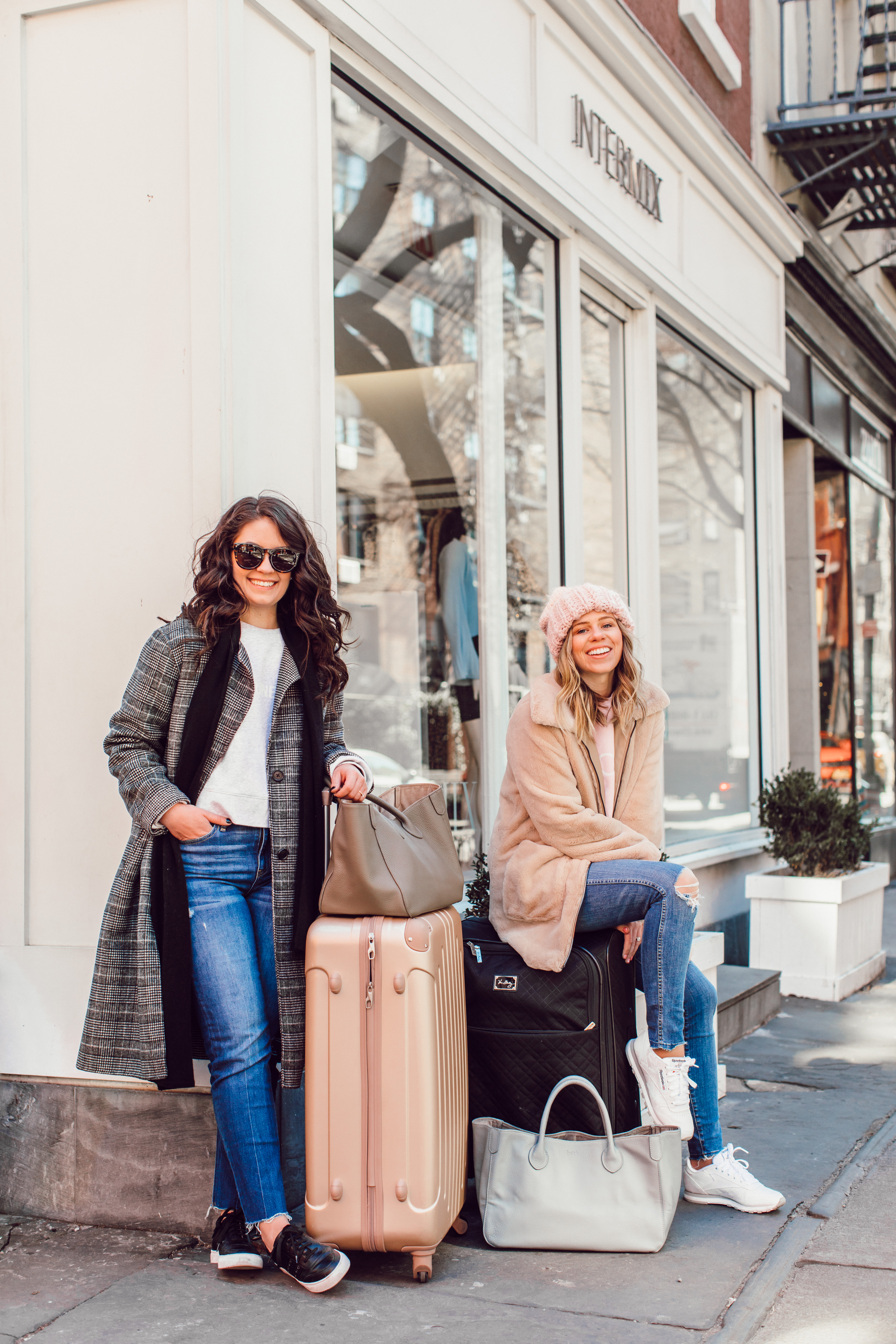 Winter Travel Style, Comfy Travel Style - NYFW Packing Tips and Recommendations featured by popular NC fashion blogger Laura Leigh of Louella Reese