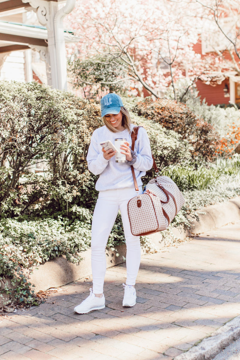 How to Style Monogrammed Pieces this Spring