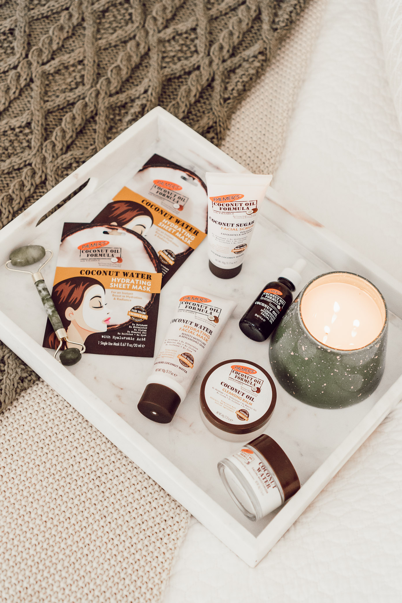 Palmer's Coconut Oil Formula | Fives Ways to Give Your Skin a Healthy Glow featured on Louella Reese