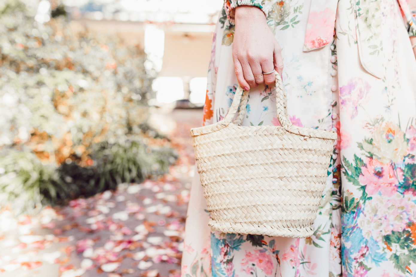 Why you need a mini straw tote in your closet + where to buy it now | Louella Reese