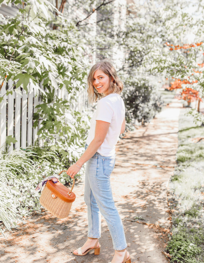 Feminine and classic everyday outfit ideas for spring | Louella Reese