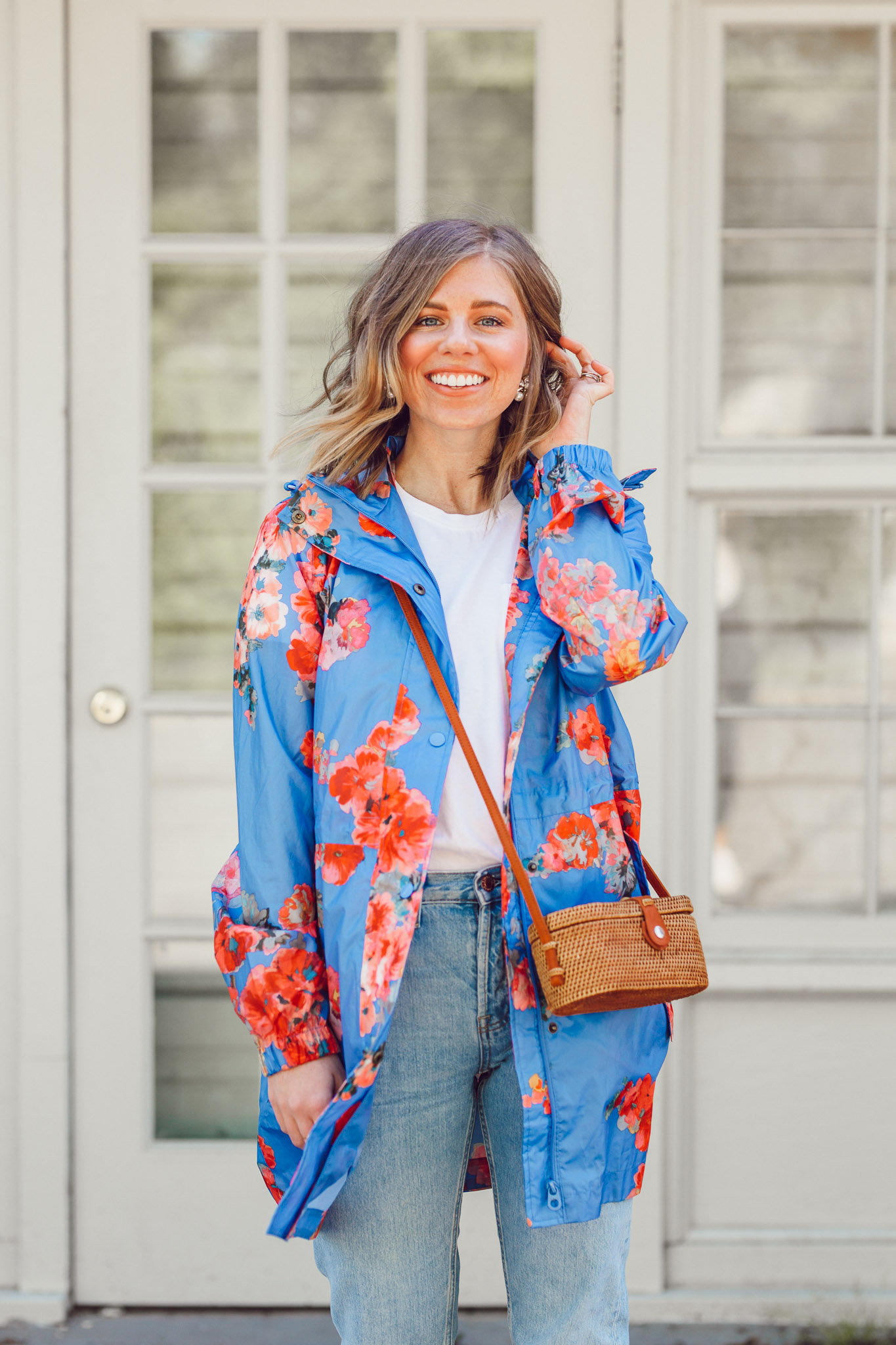 The Cutest Rain Jacket for Spring Showers | ft. Joules, Everlane | Louella Reese