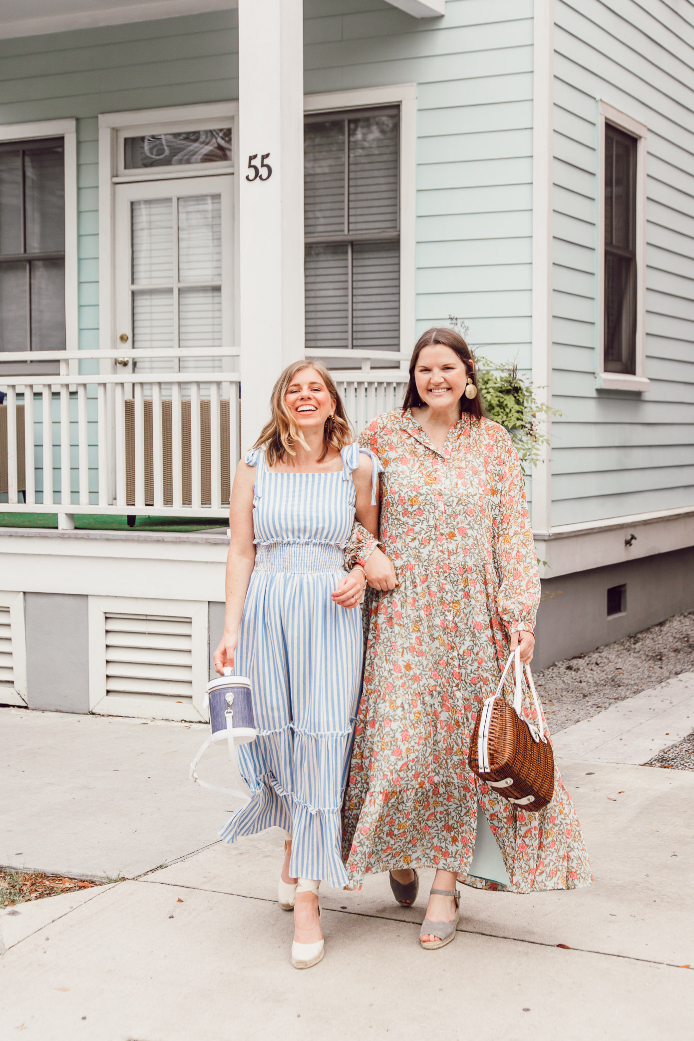 The BEST Spring Maxi Dresses | Ft. English Factory, H&M, Soludos, Paravel | Louella Reese
