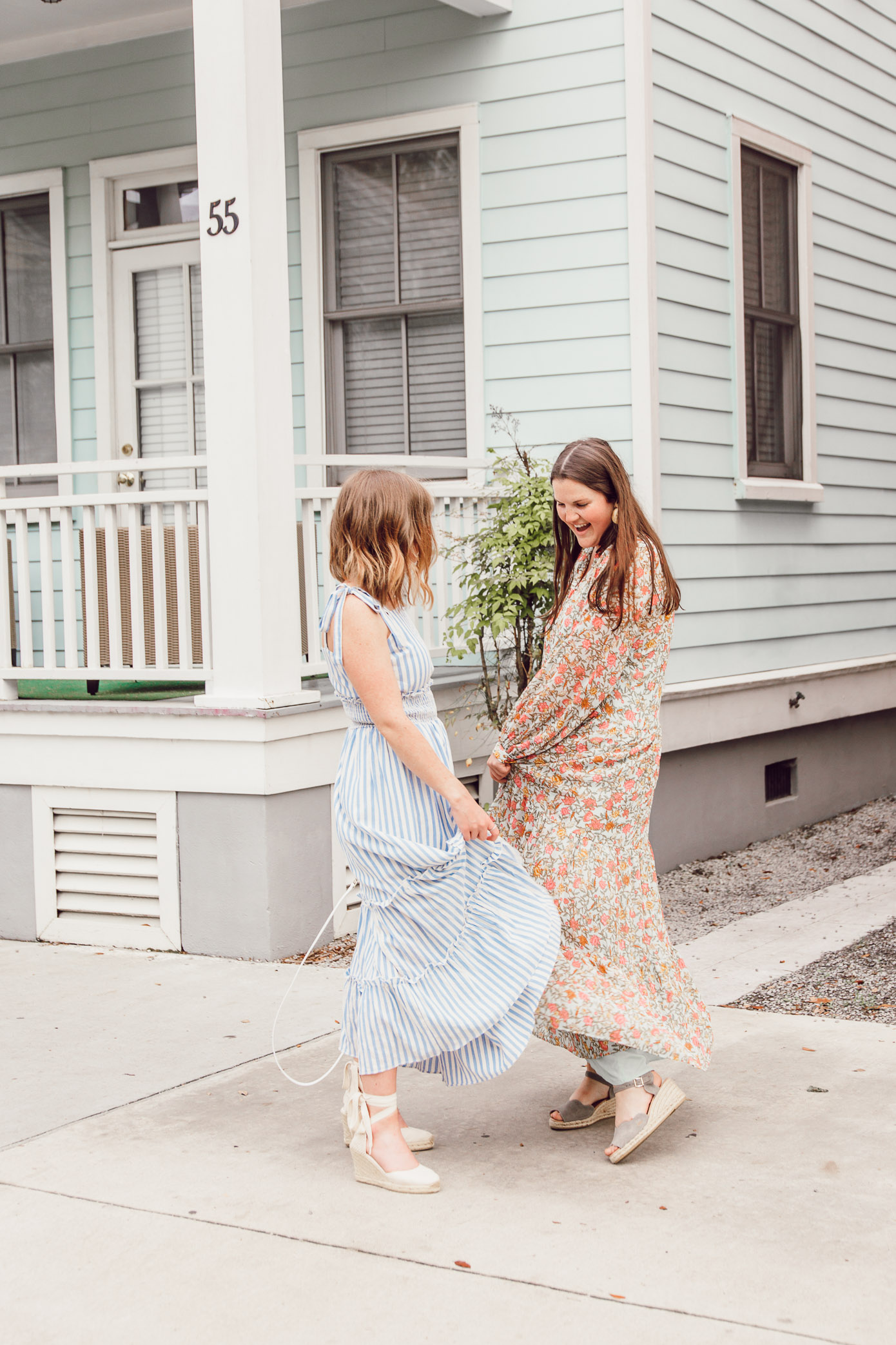 Stylish, versatile, and oh-so-comfortable, these maxi dresses are the definition of a warm-weather staple | Ft. English Factory, H&M, Soludos, Paravel | Louella Reese