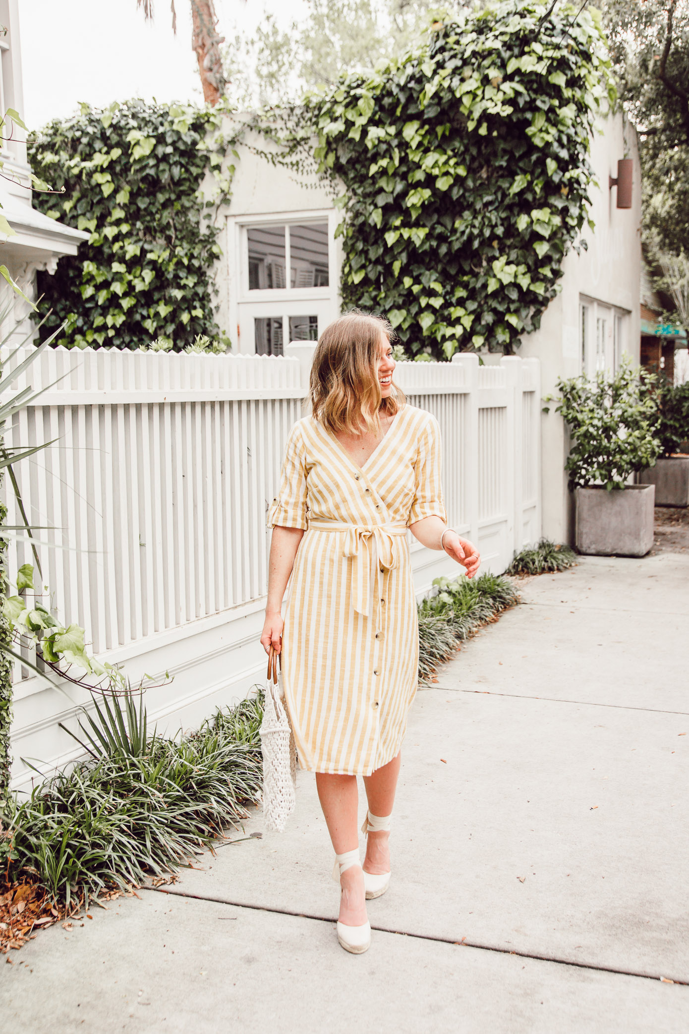 Spring Trends: the cutest yellow striped midi dress for every body type | Louella Reese