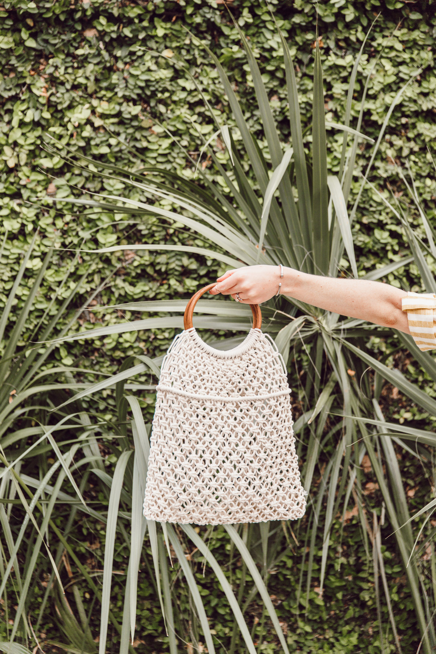 The best macrame tote to carry this spring | Louella Reese