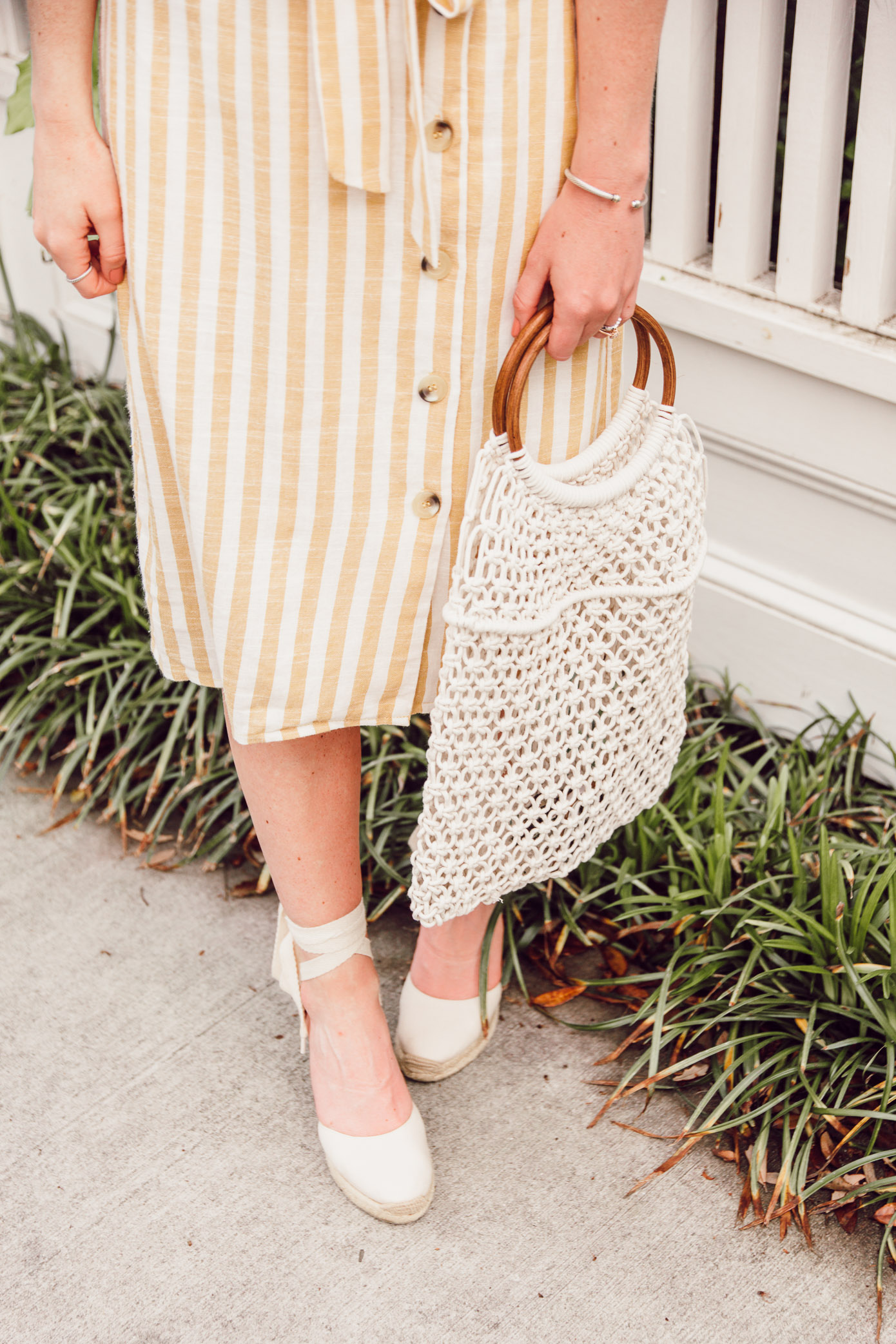 The best macrame bag to carry this spring | Louella Reese