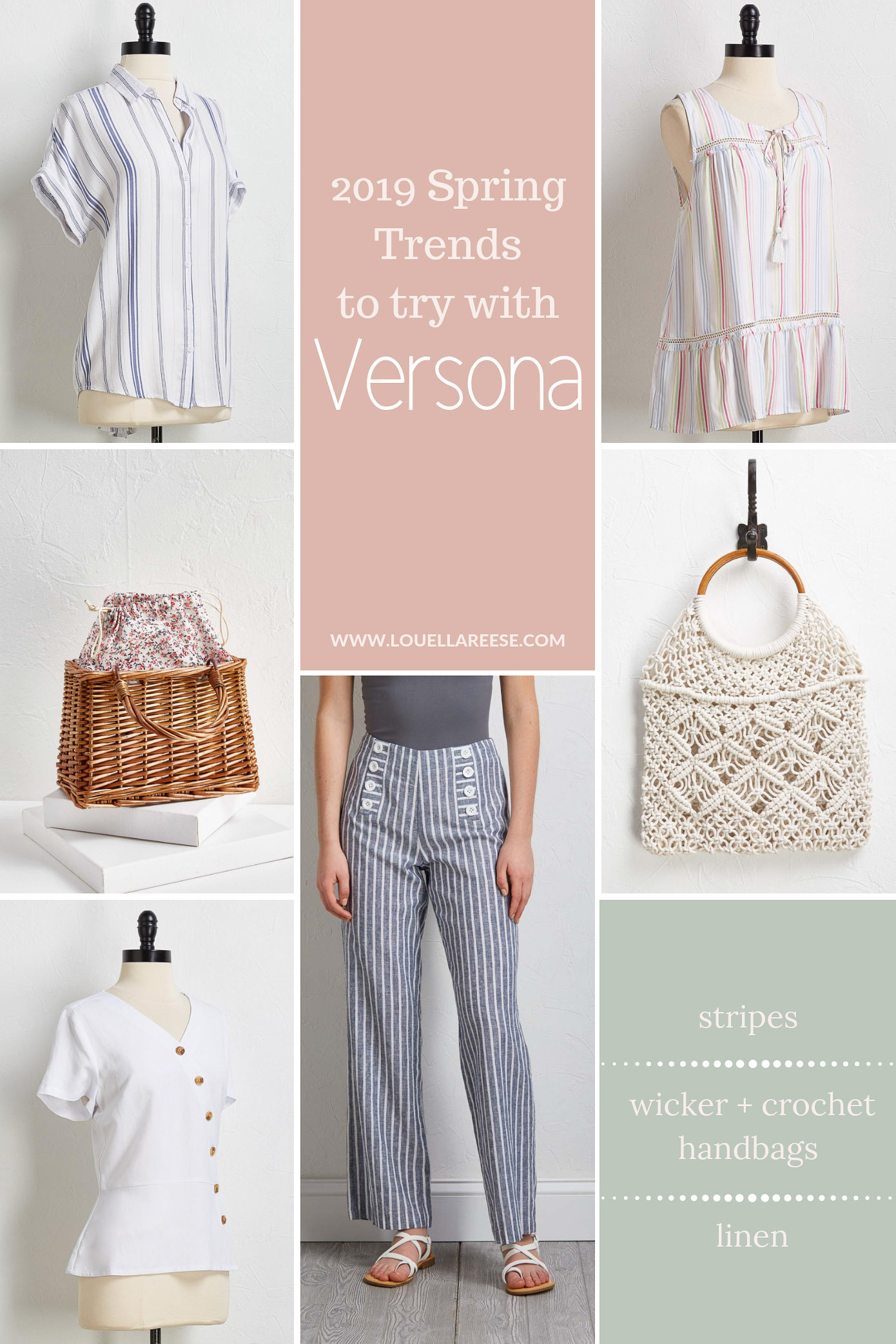 Spring Trends to Try with Versona | Louella Reese