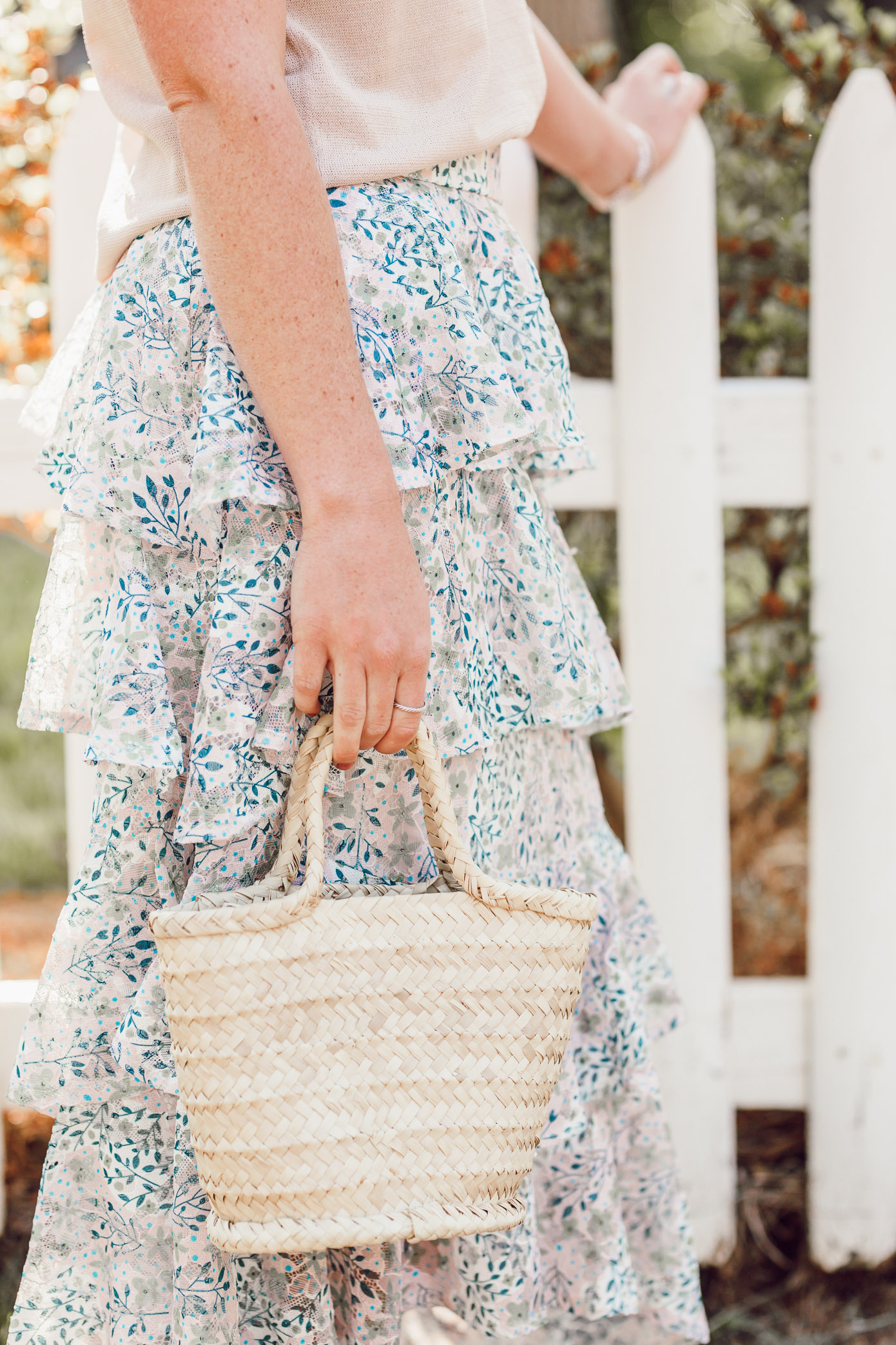 The cutest straw bags to complete every summer outfit | Mini Straw Tote | Louella Reese