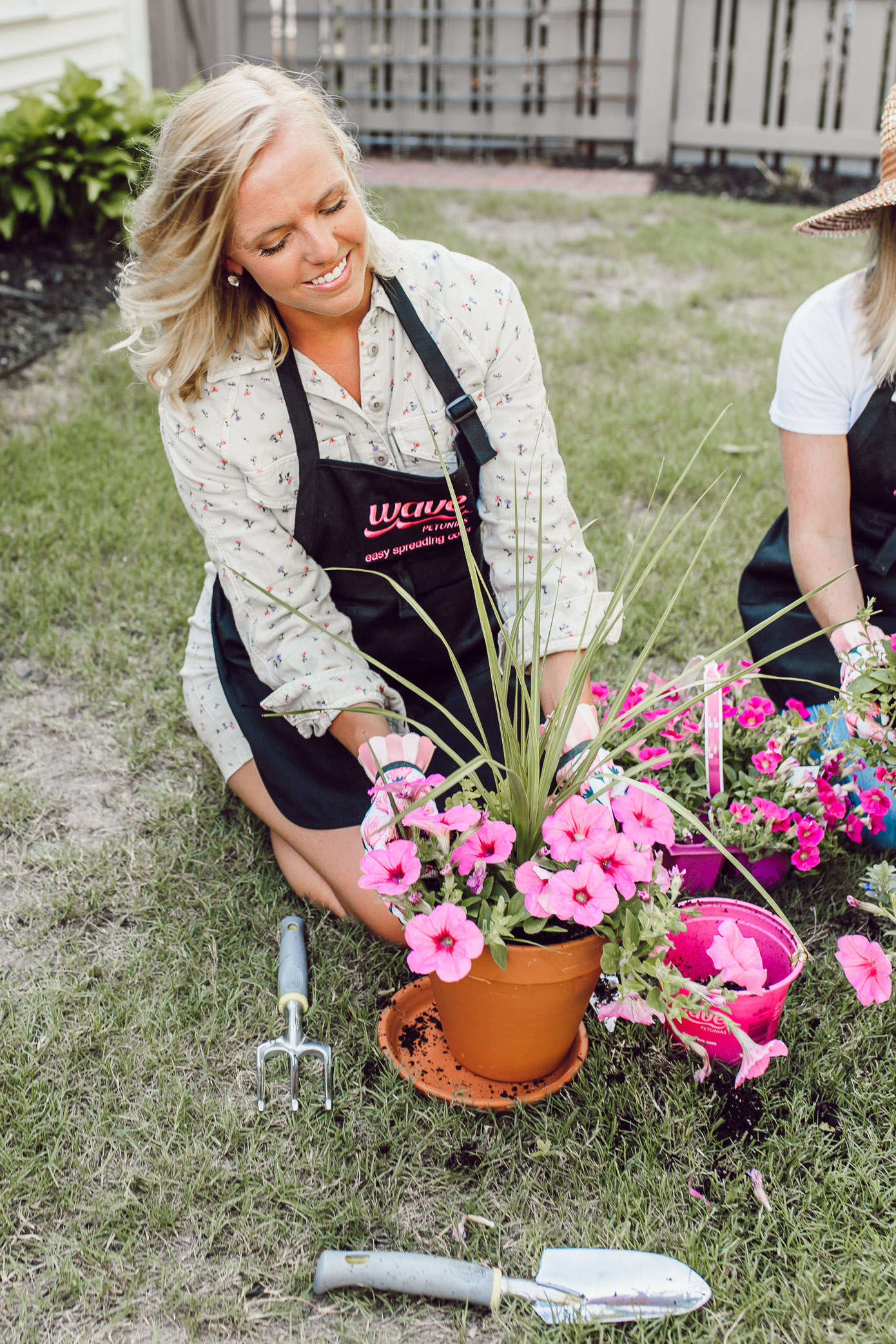 How to Host a Garden Potting Party | Louella Reese