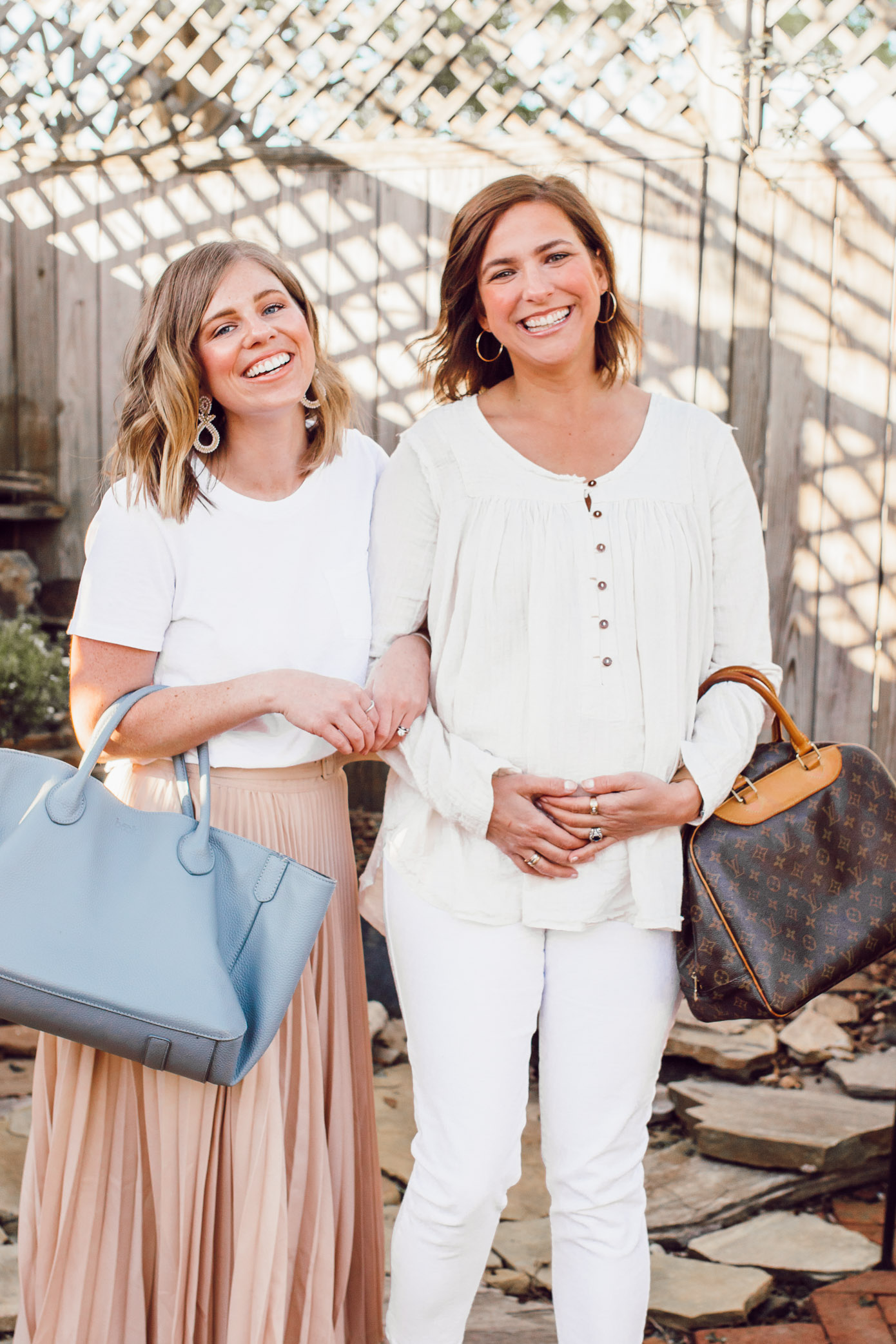 Two Neutral Monochromatic Looks for Spring | ft. Everlane, Chicwish, Free People, Gap | Louella Reese
