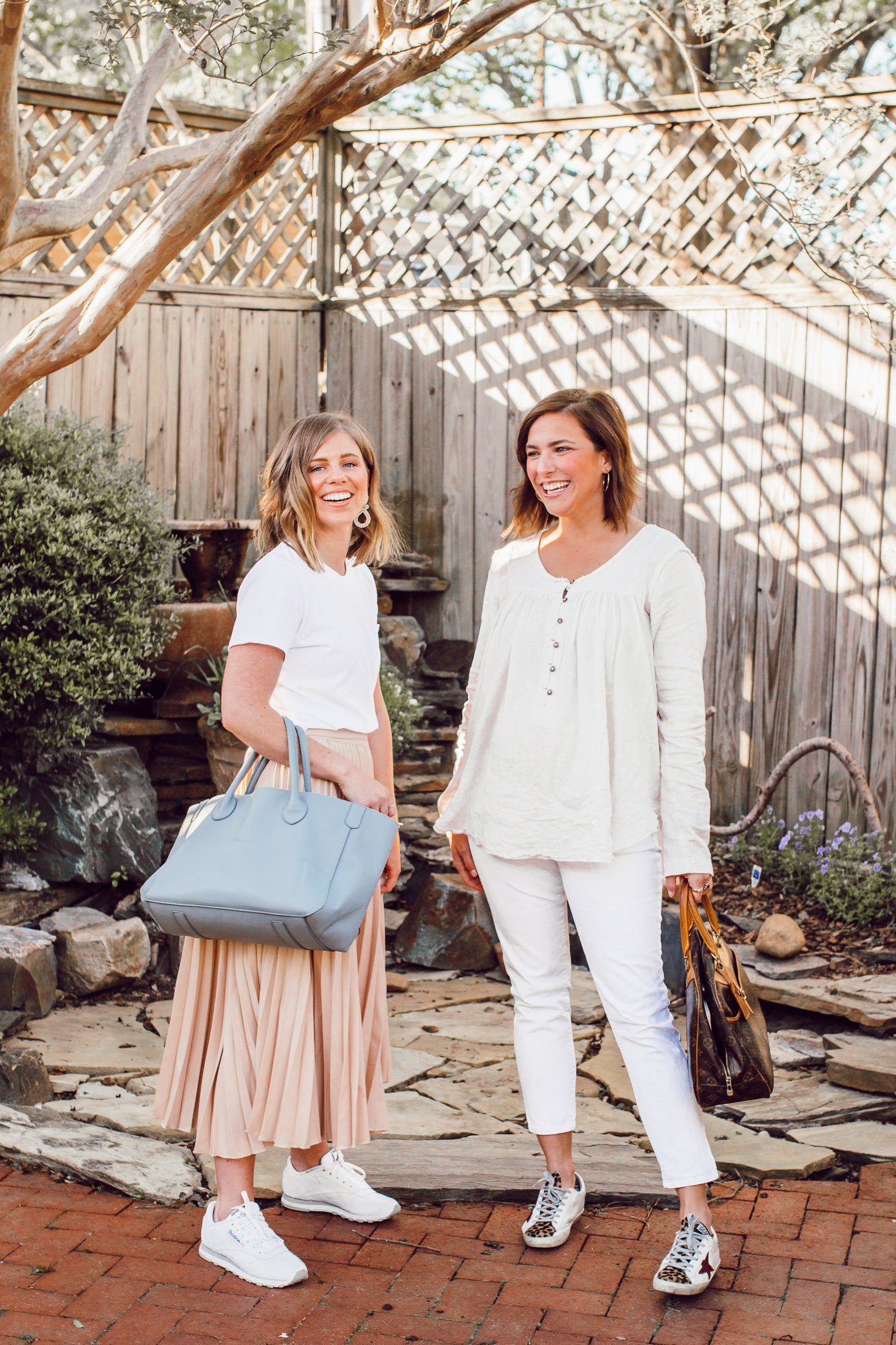 How to Style White and Cream together for Spring, Two Ways | Ft. Everlane, Chicwish, Free People, Gap | Louella Reese