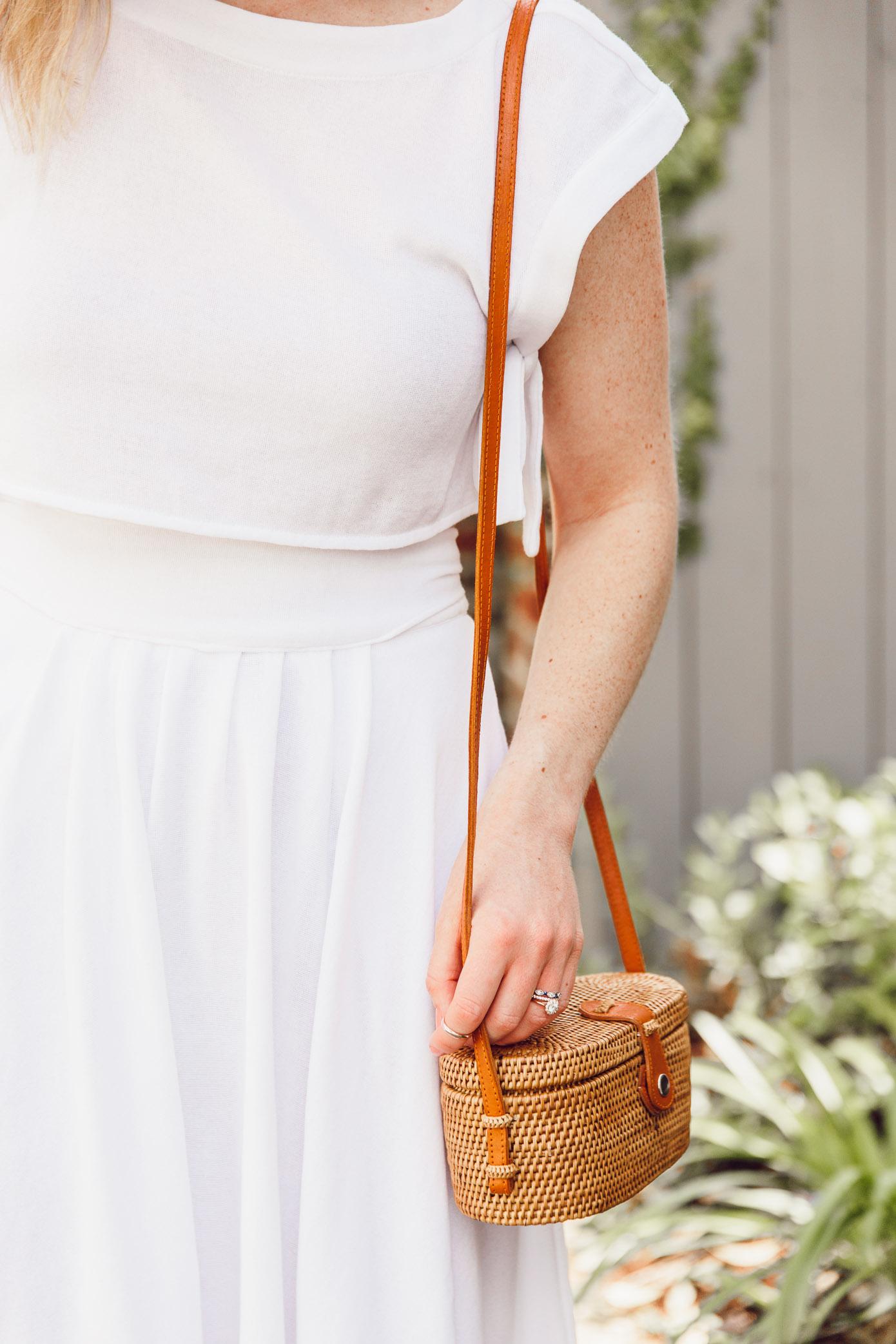 Rattan Handbags for Summer | Louella Reese
