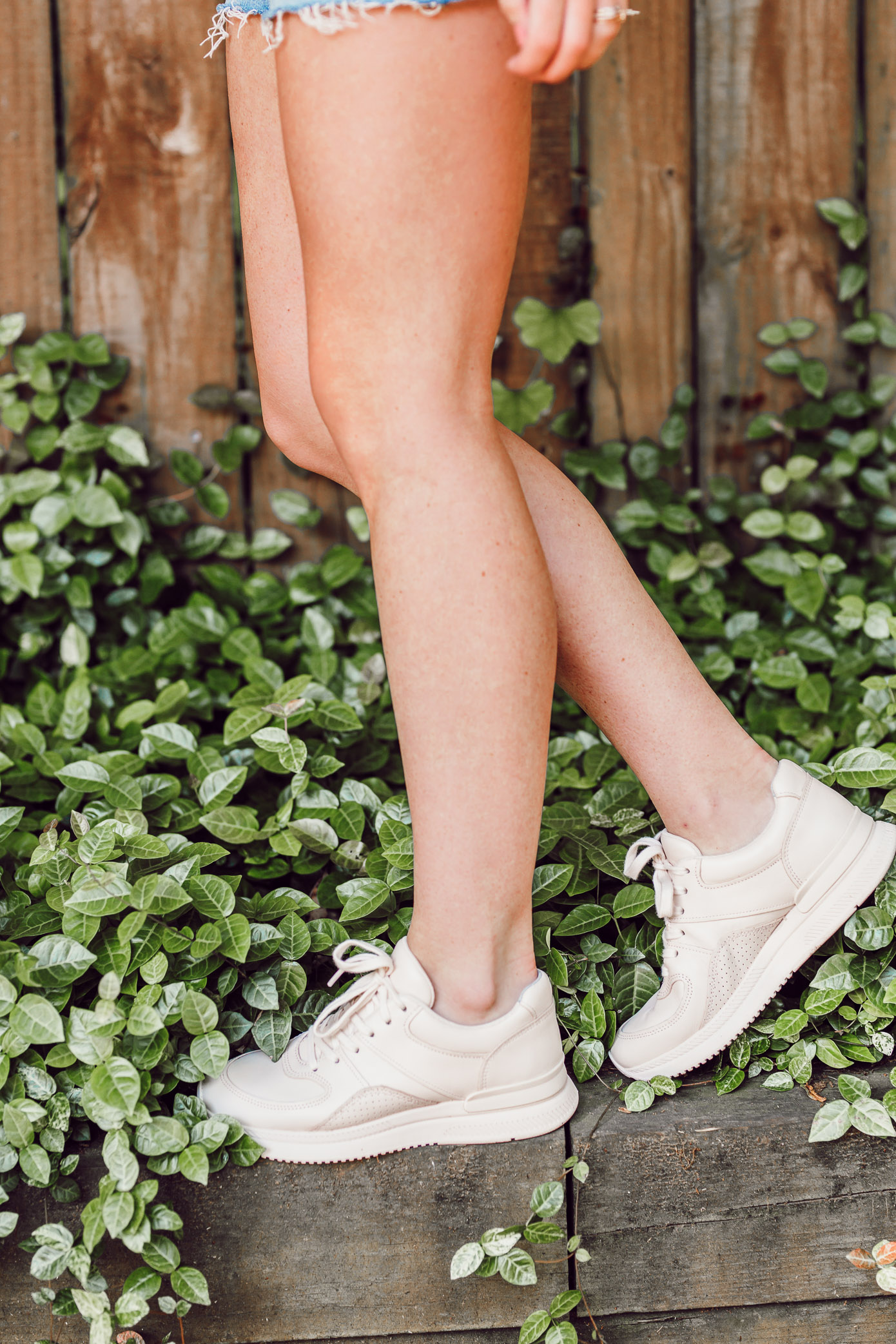 Tread The Trainer Sneakers | Blush Dad Sneakers | Louella Reese