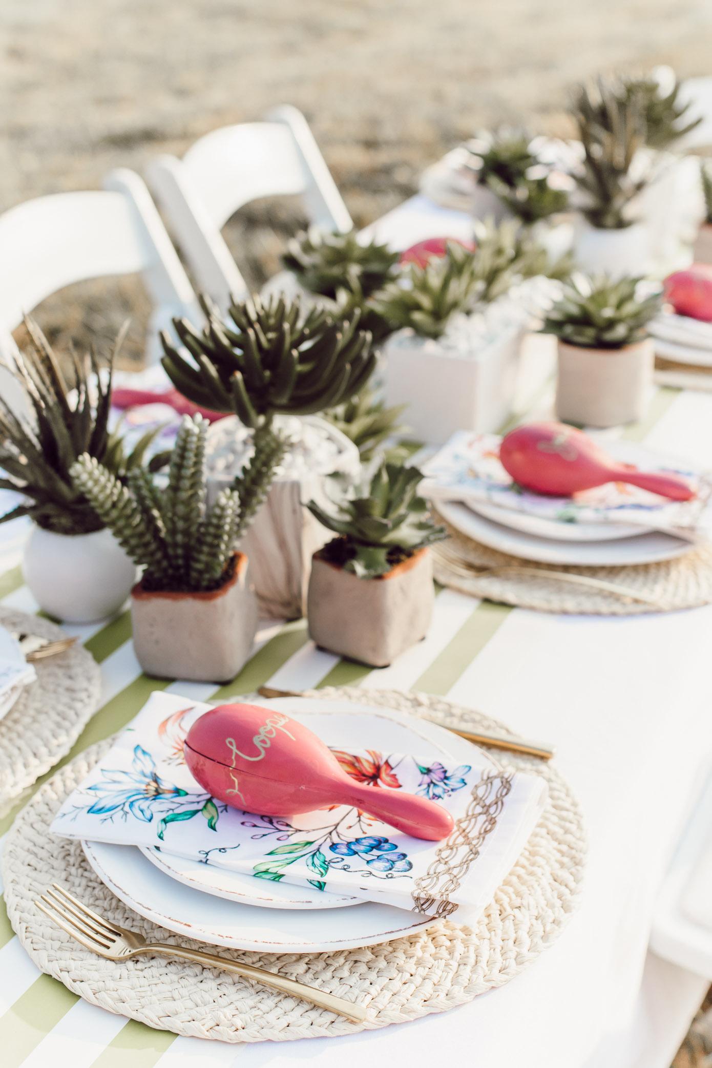 Succulent Centerpiece | How to Create a Succulent Centerpiece | Louella Reese