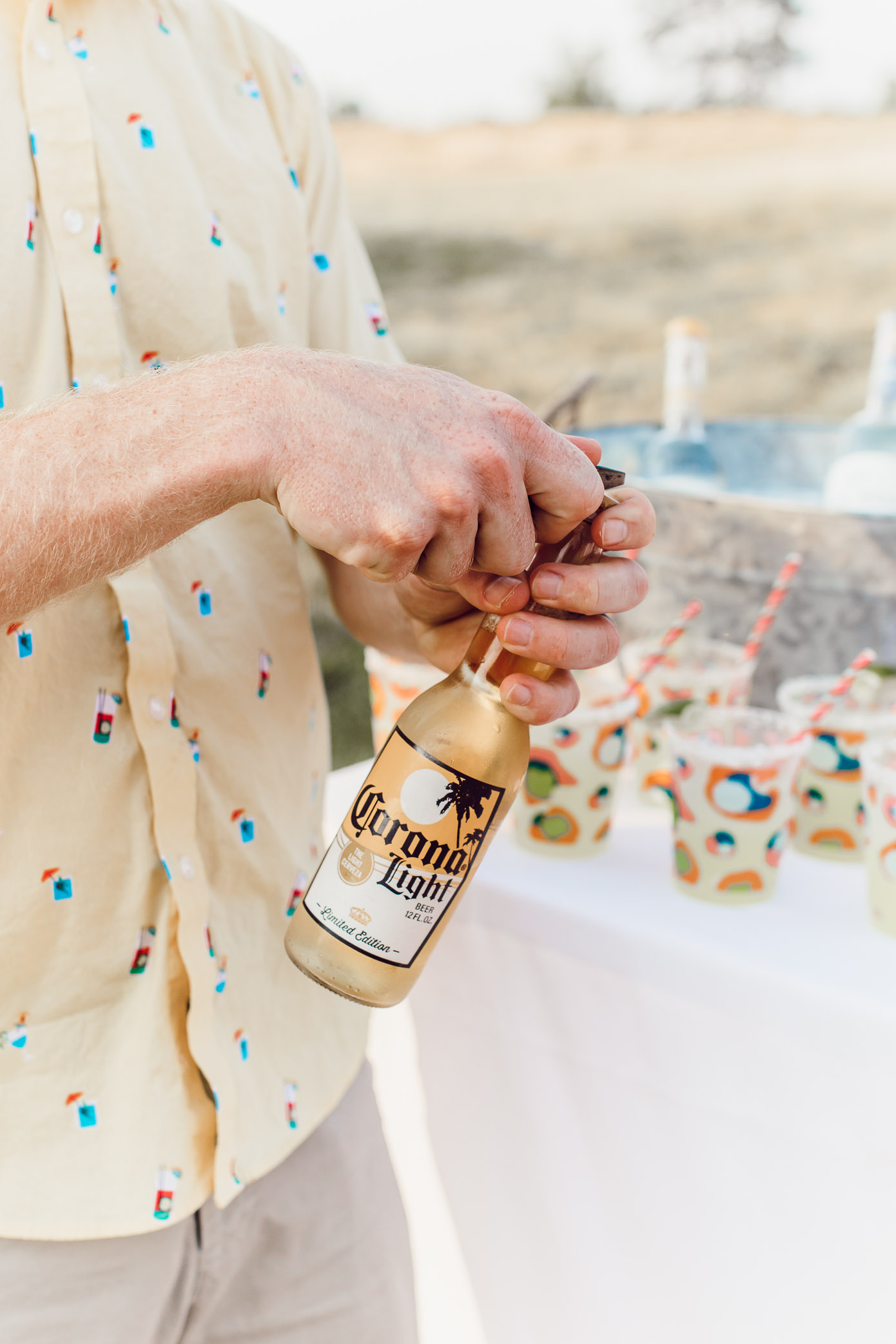 Corona Light | Backyard Summer Fiesta | Louella Reese