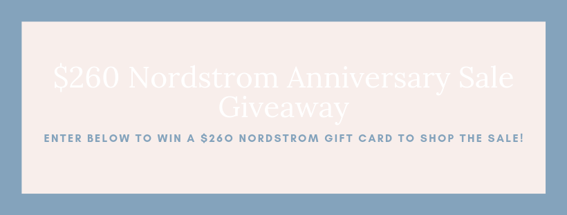 2019 Nordstrom Anniversary Sale Giveaway | Louella Reese